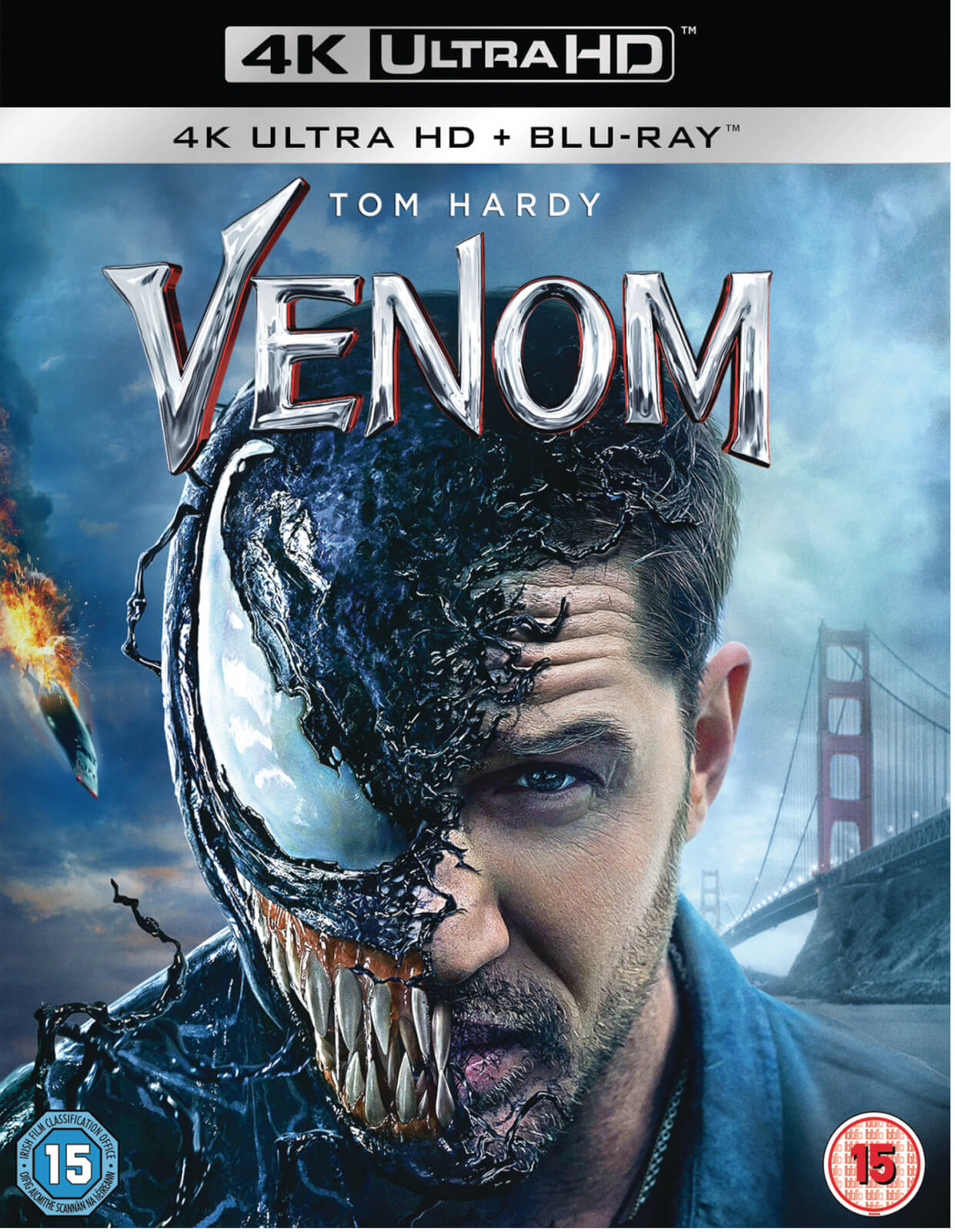 Venom 4k Ultra Hd Blu Ray Zavvi