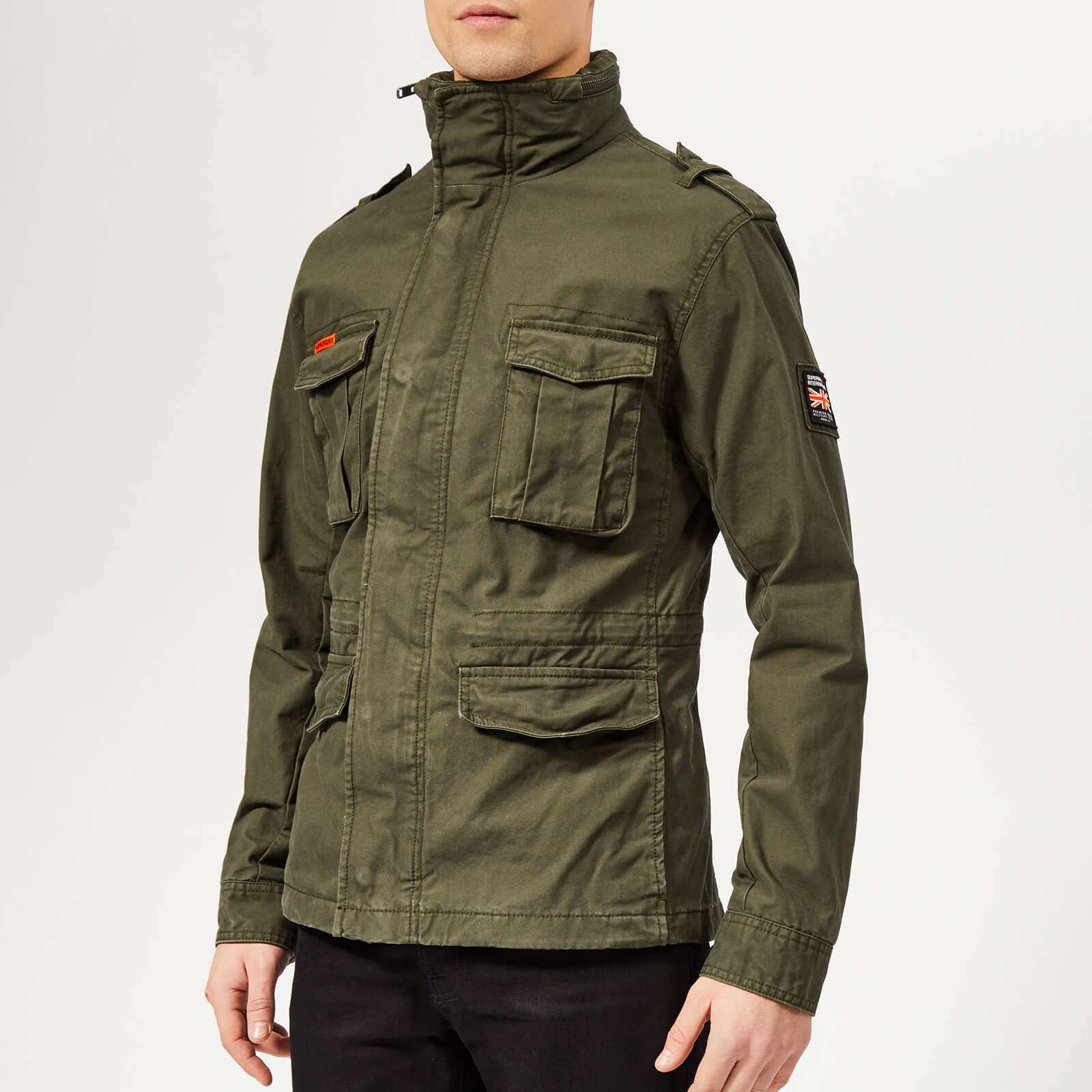 Superdry Rookie Military Jacket Green | Coats & Tops | Men's
