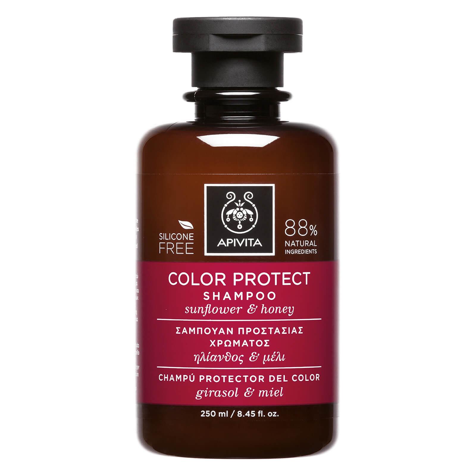 APIVITA Holistic Hair Care Color Protect Shampoo - Sunflower   Honey 250ml.  Description 61cf8962b13