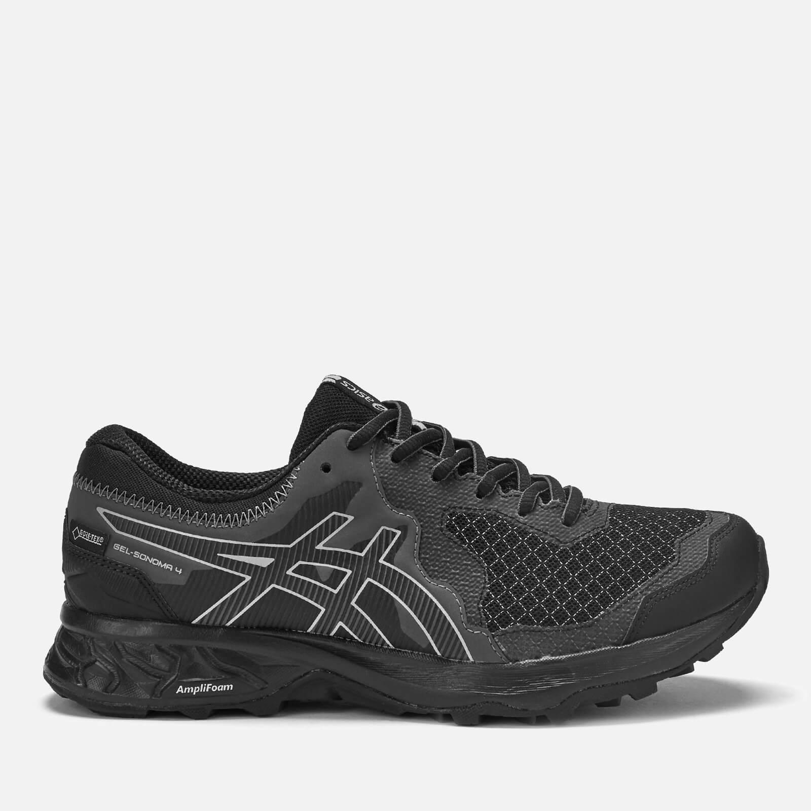 e04163562 Asics Women's Running Trail Gel Somoma 4 Goretex Trainers - Black/Stone Grey