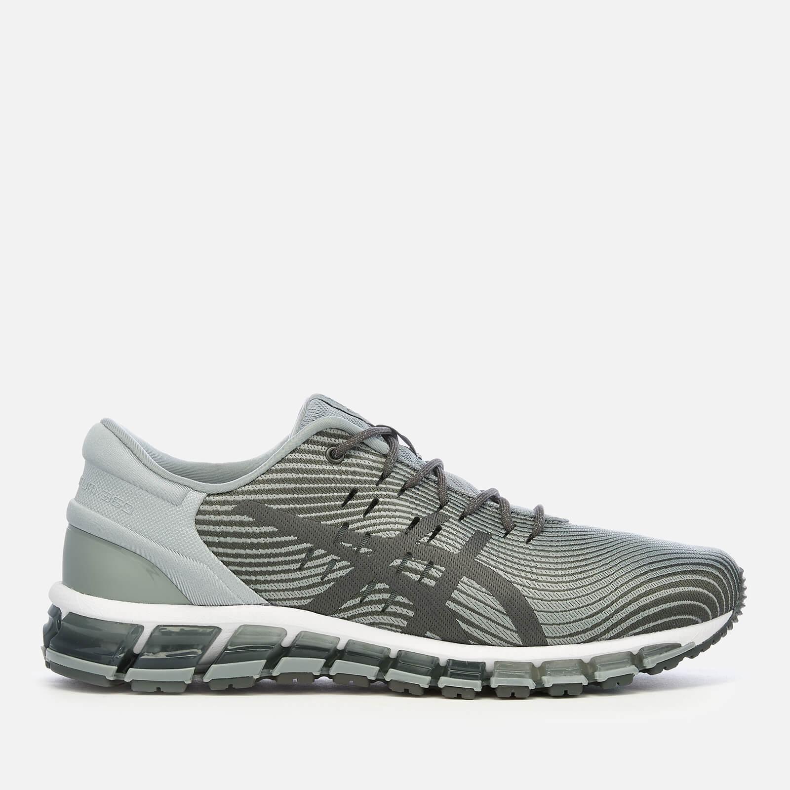 new concept 0df2b 5c3c5 Asics Men's Lifestyle Gel Quantum 360 4 Trainers - Stone Grey/Dark Grey