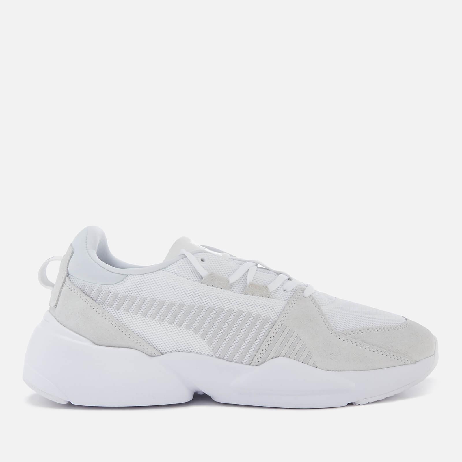 92ca104cbd99 Puma Men s Zeta Suede Trainers - Puma White Glacier Grey Mens Footwear