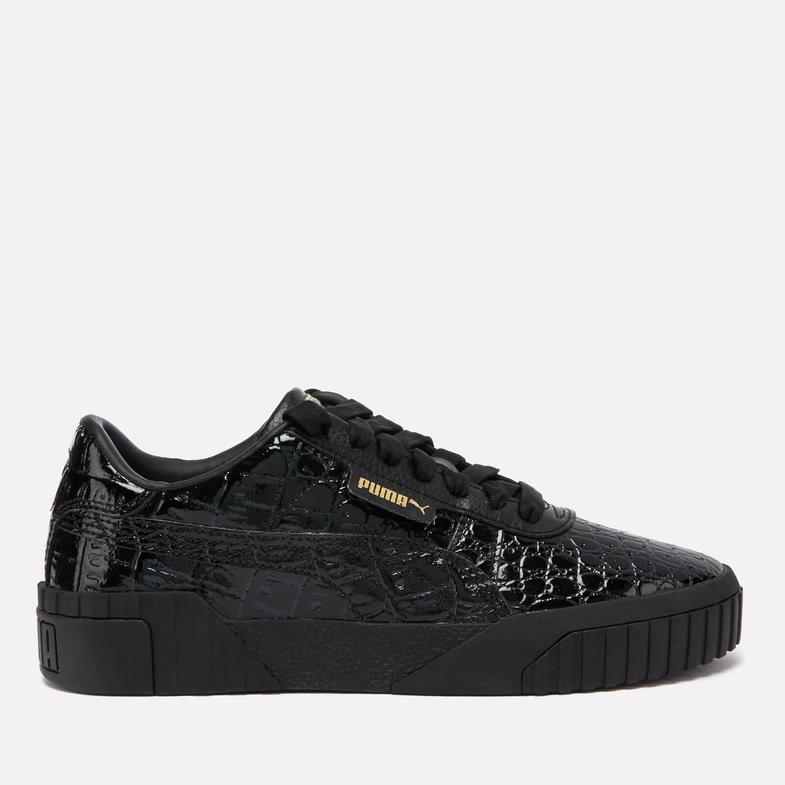 Puma Women's Cali Croc Trainers Puma BlackPuma Black
