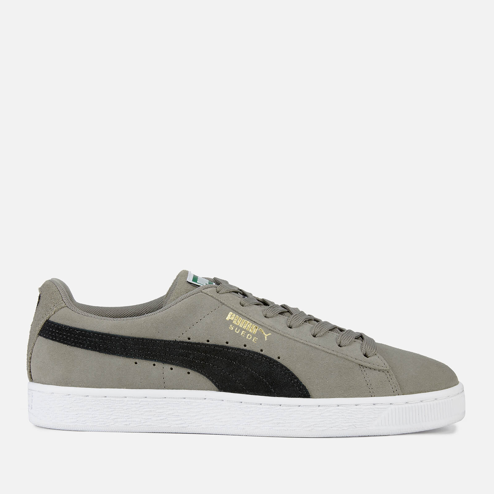 online store cdbd7 1143a Puma Men's Suede Classic Trainers - Charcoal Grey/Puma Black