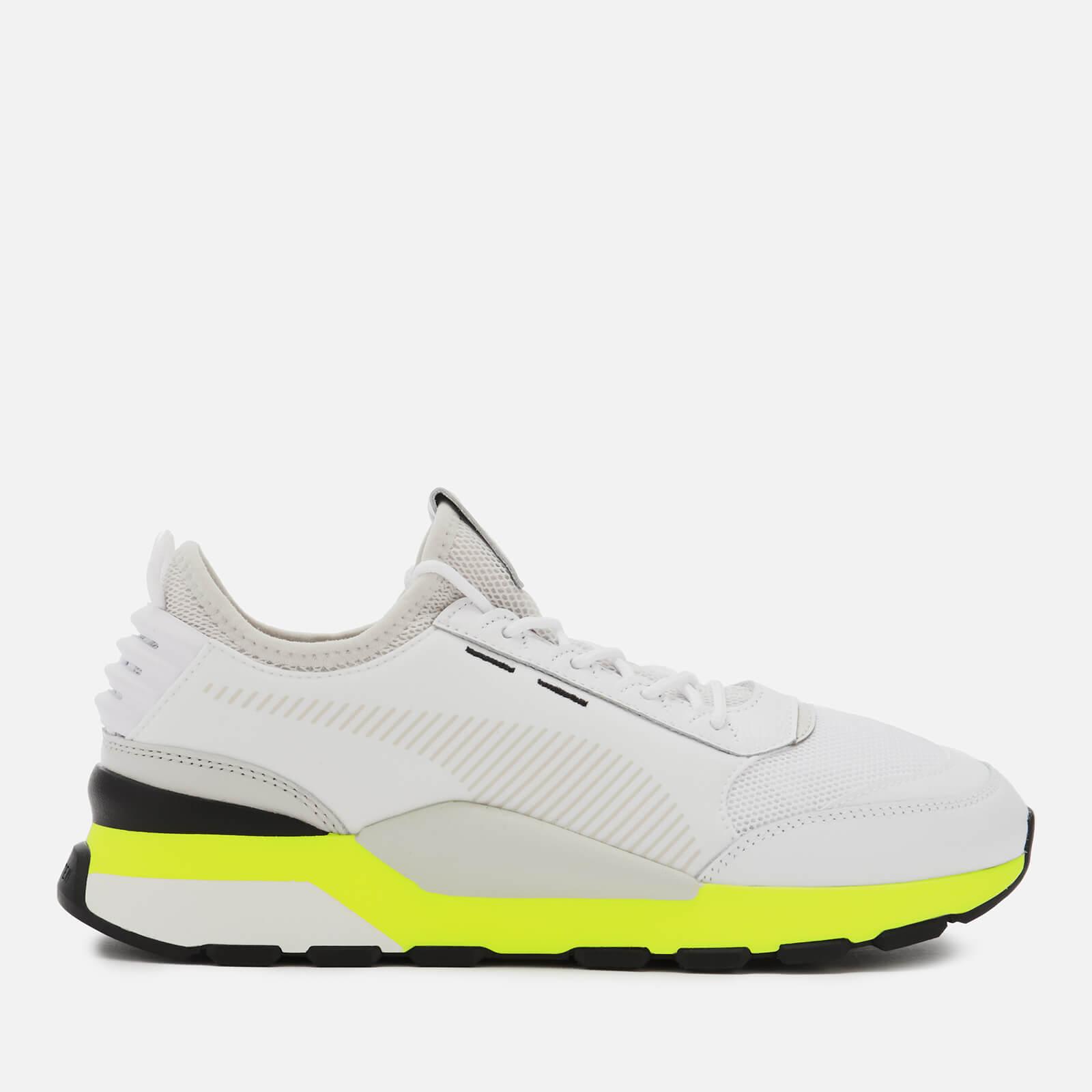 Puma Men's RS-0 Tracks Trainers - Puma White/Fizzy Yellow