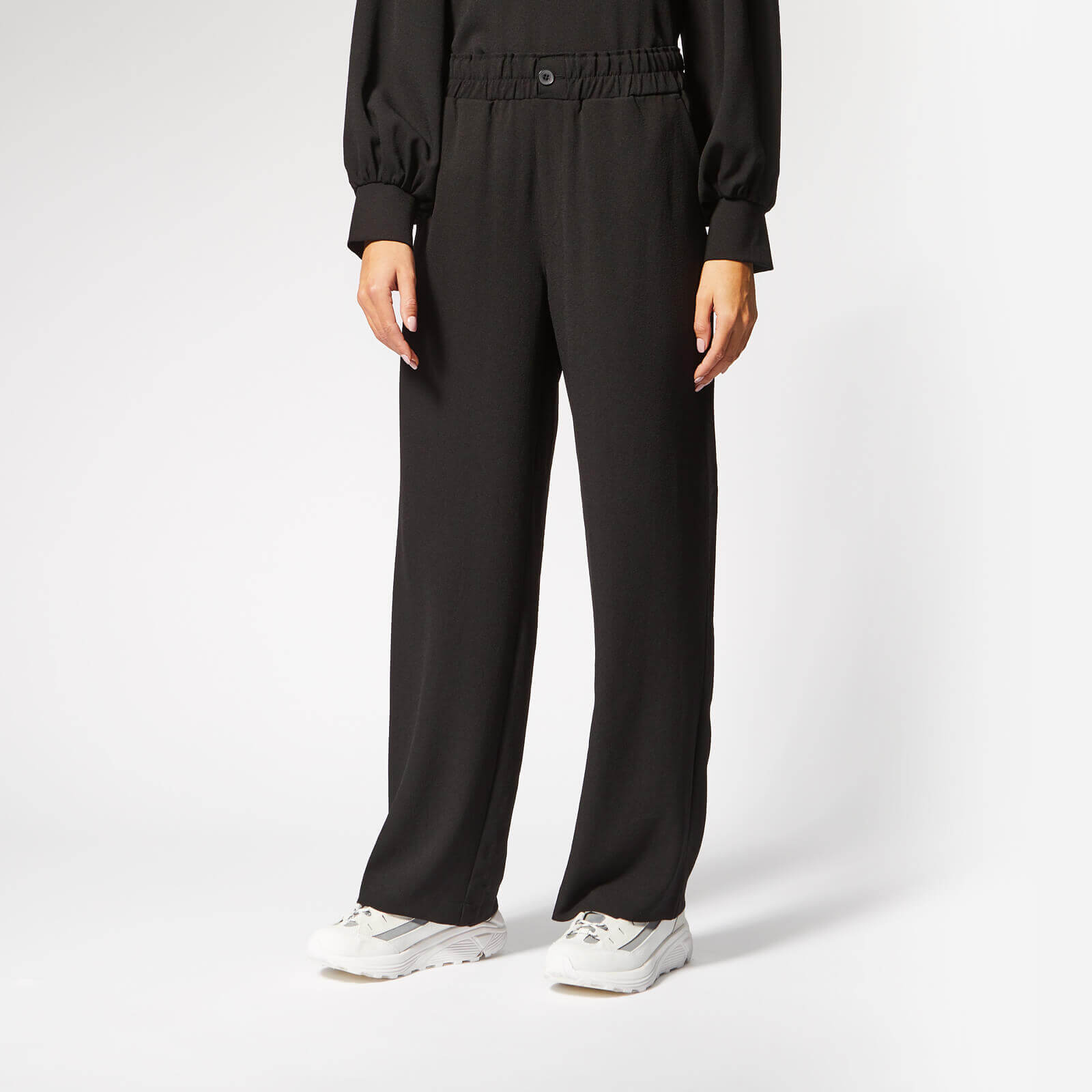 4558e5ba61c7 Ganni Women s Clark Trousers - Black Ganni Women s Clark Trousers - Black