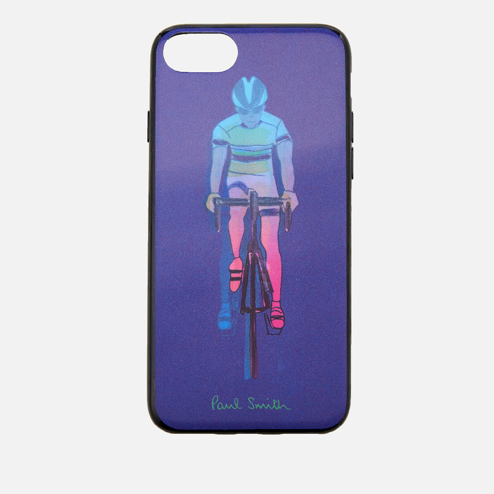 new styles 775f1 00d6e Paul Smith Men's Cycling iPhone 8 Case - Purple