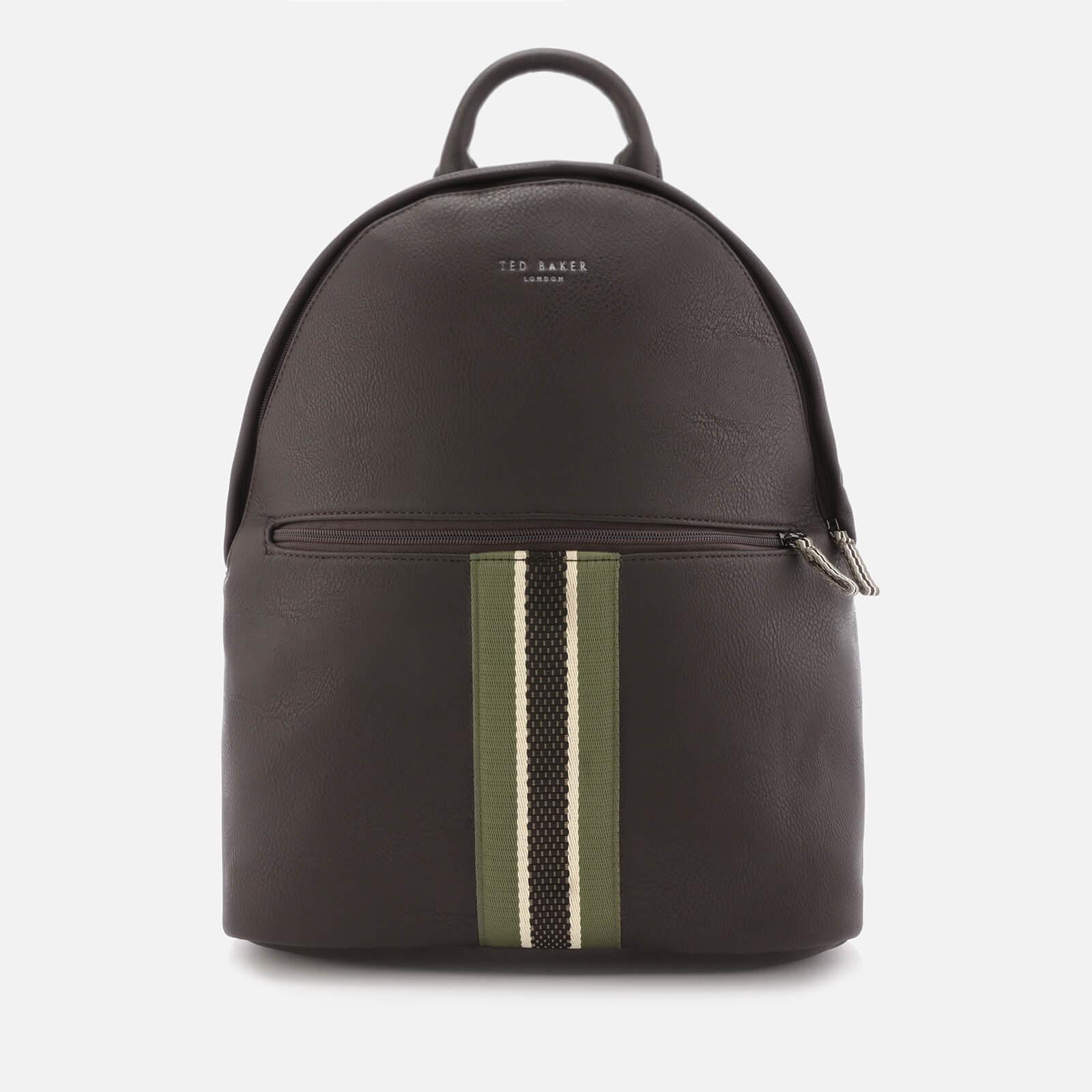 8e0f9dbda Ted Baker Men s Standin Webbing Backpack - Chocolate Mens Accessories