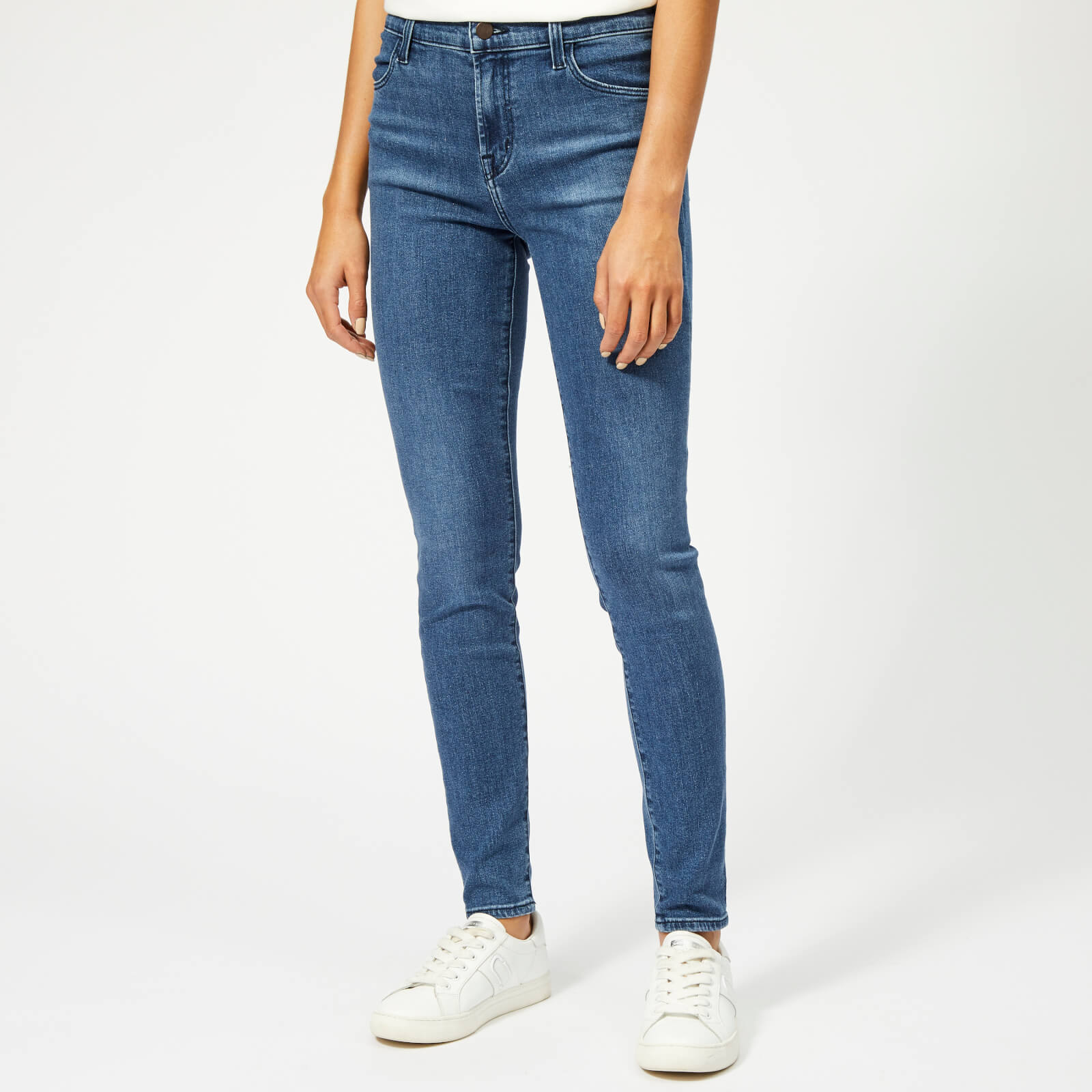 c2a6705dcbe90 J Brand Women s Maria High Rise Skinny Jeans - Earthy - Free UK ...