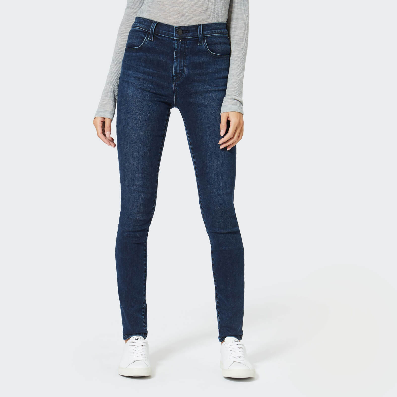ca1ff33b9ea J Brand Women's Maria High Rise Skinny Jeans - Phased - Free UK Delivery  over £50