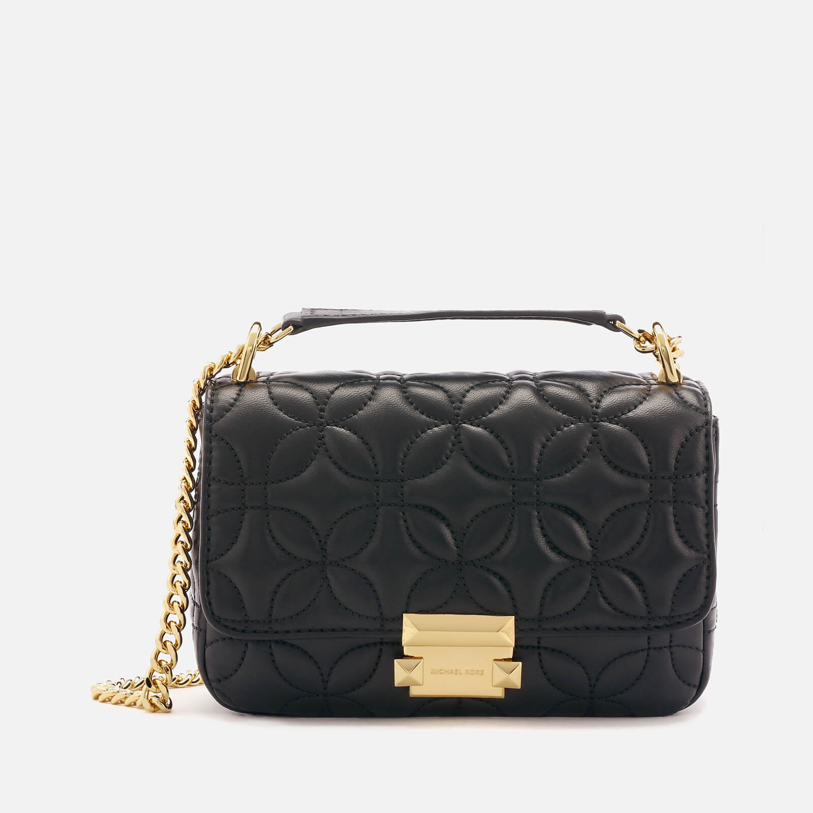 0aa44be8bd5 MICHAEL MICHAEL KORS Women s Sloan Chain Shoulder Bag - Black Flora Womens  Accessories
