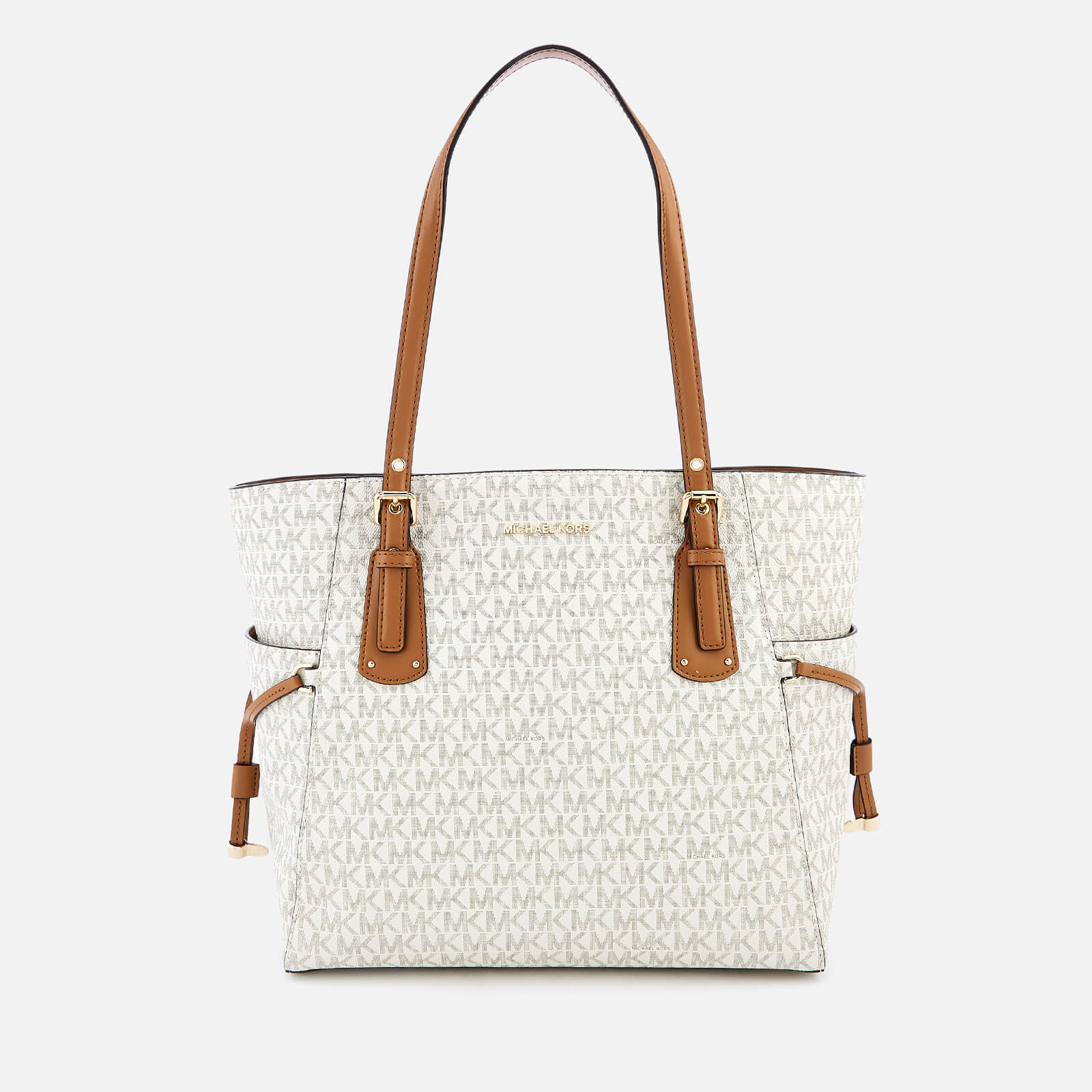 eb1dfd93a7 MICHAEL MICHAEL KORS Women s Voyager East West Tote Bag - Vanilla - Free UK  Delivery over £50