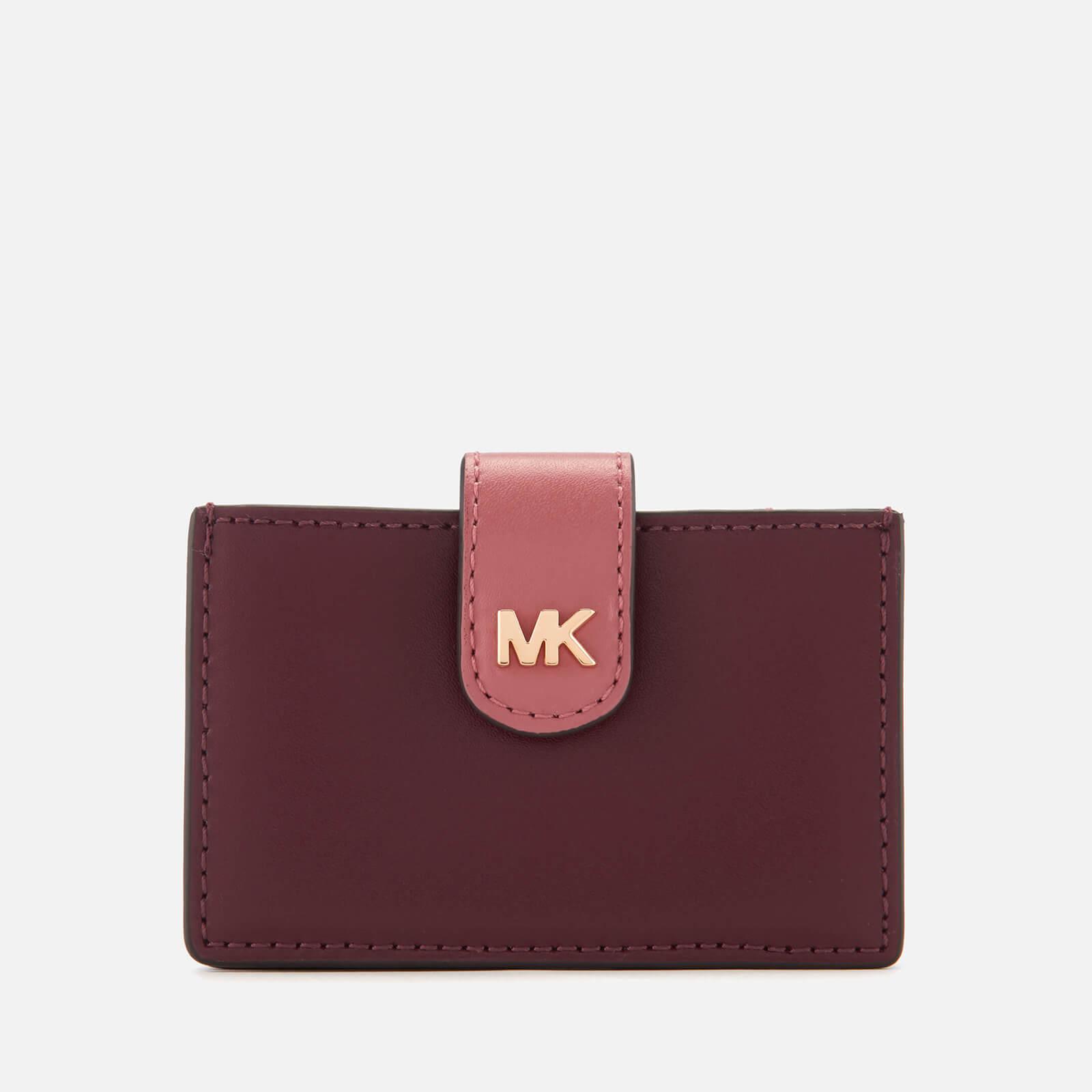 dbef53e7b315 MICHAEL MICHAEL KORS Women s Money Pieces Card Case - Oxblood Multi Womens  Accessories