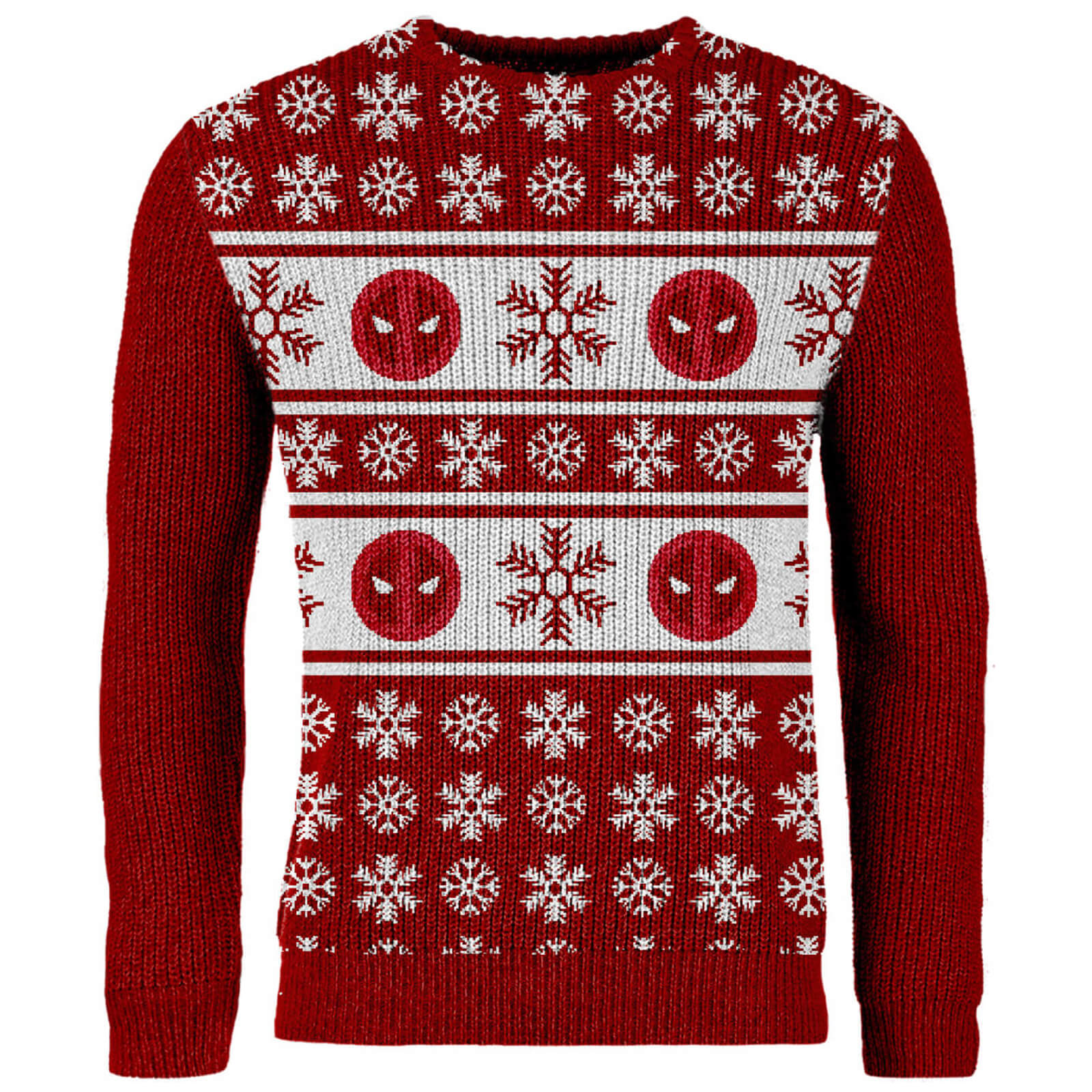 Lord Of The Rings Christmas Jumper.Zavvi Exclusive Deadpool Knitted Christmas Jumper Red