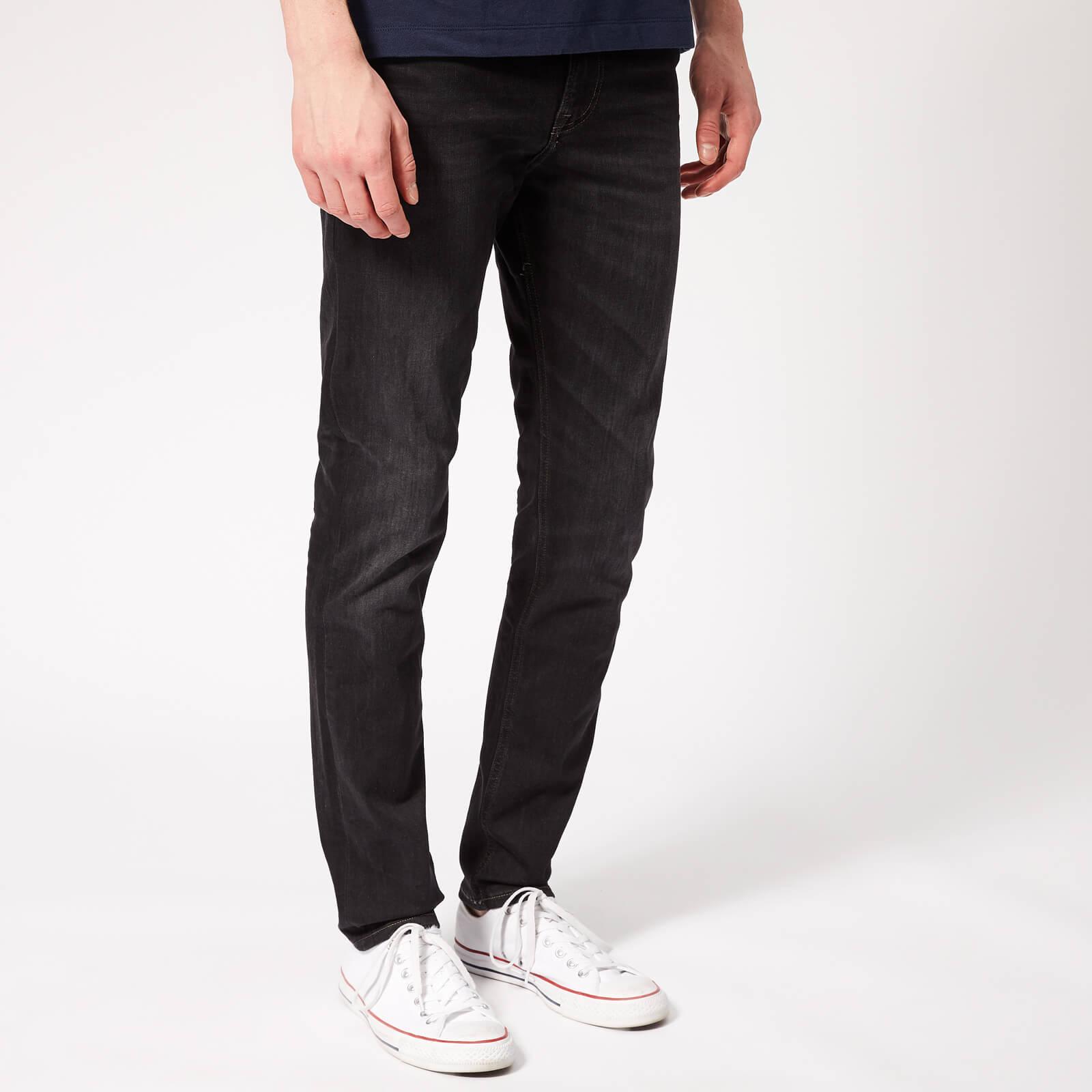 dde669cc Tommy Jeans Men's Skinny Simon Jeans - Vernon Black Stretch Mens Clothing |  TheHut.com