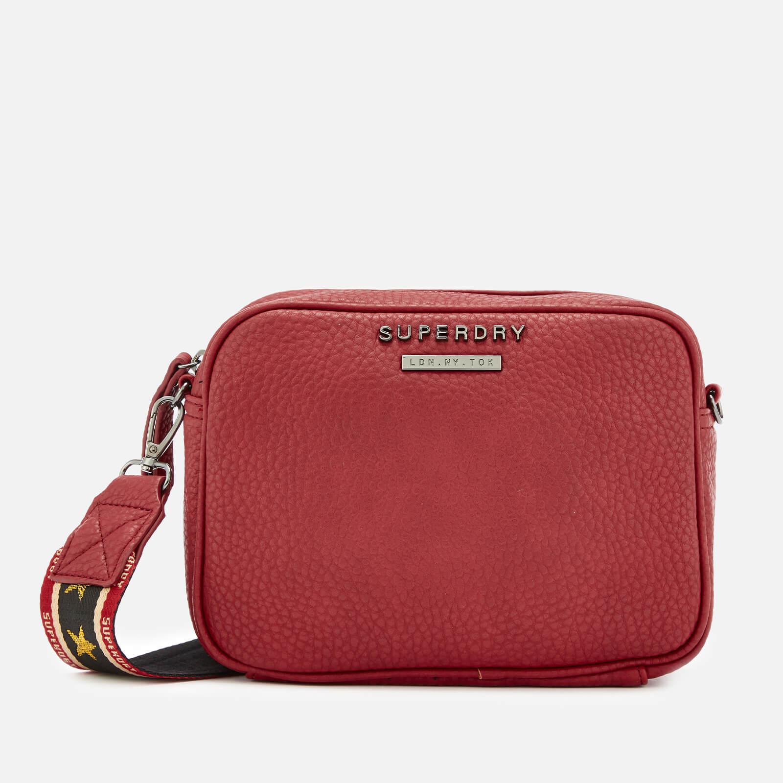 8b007fec583 Superdry Women's Delwen Strap Cross Body Bag - Red Womens Accessories |  TheHut.com