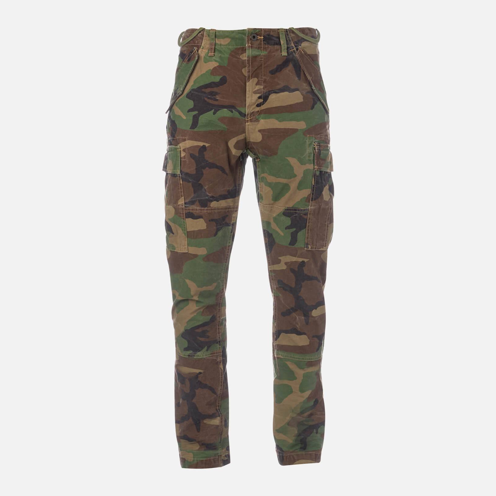 6f4ed558f3 Polo Ralph Lauren Men's Slim Fit Modern M43 Cargo Pants - Surplus Camo -  Free UK Delivery over £50