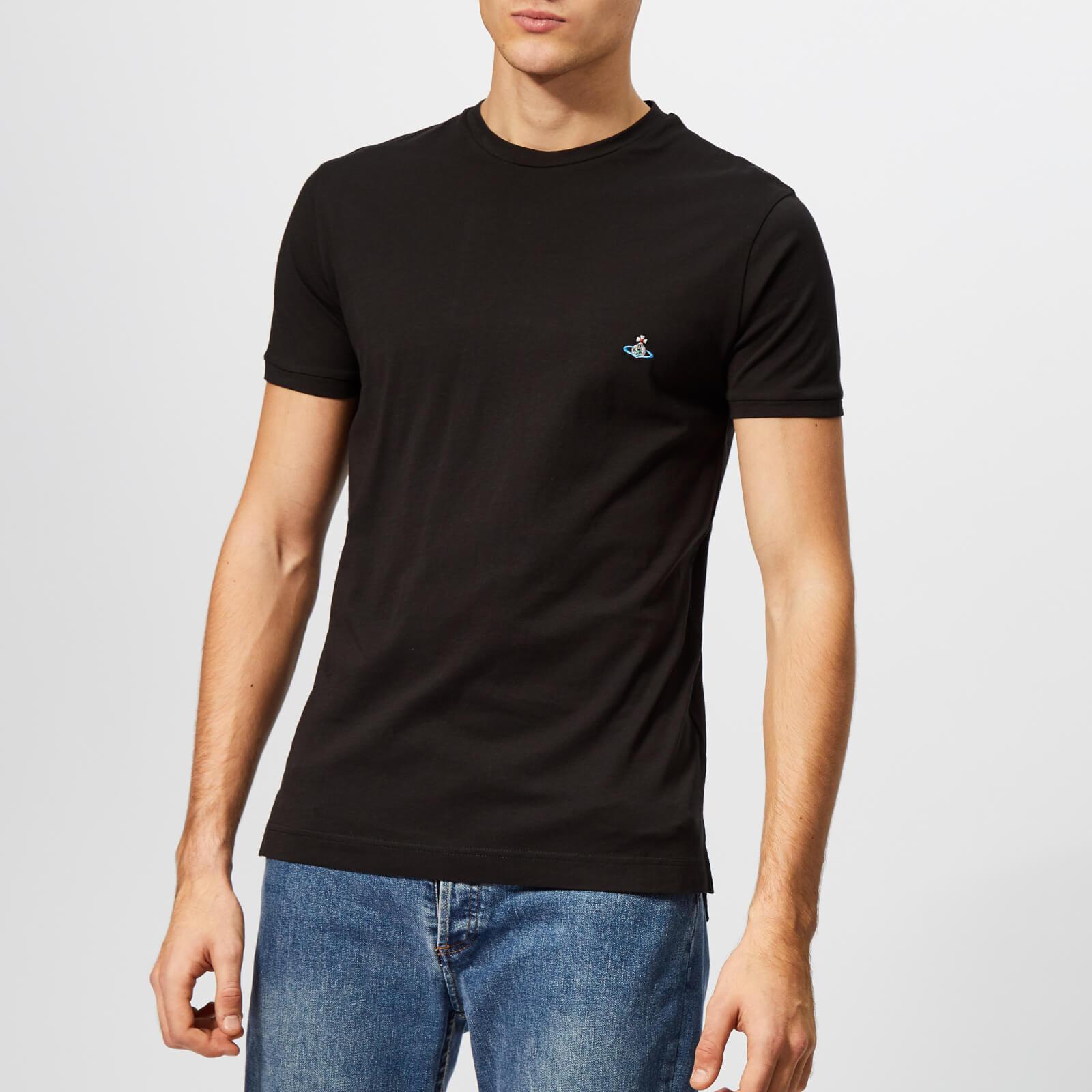 8f6aa076151c Vivienne Westwood Men s Peru T-Shirt - Black - Free UK Delivery over £50
