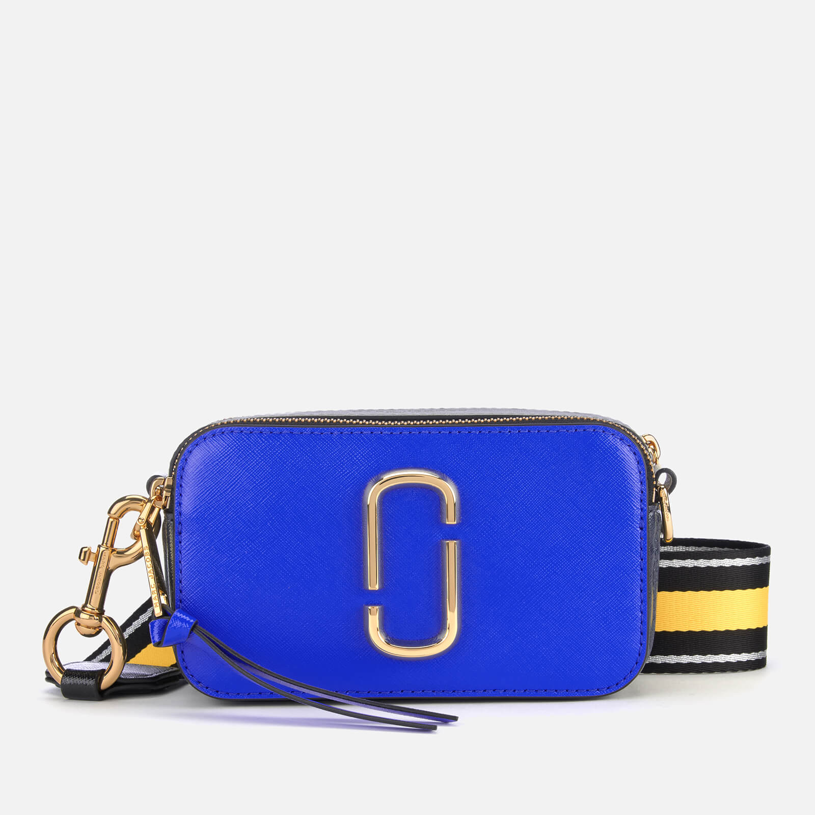 743b2302185aa Marc Jacobs Women s Snapshot Cross Body Bag - Dazzling Blue Multi - Free UK  Delivery over £50