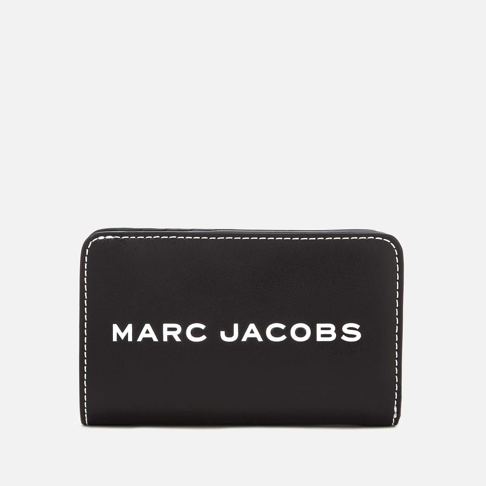 9a237ef534 Marc Jacobs Women's Compact Wallet - Black - Free UK Delivery over £50