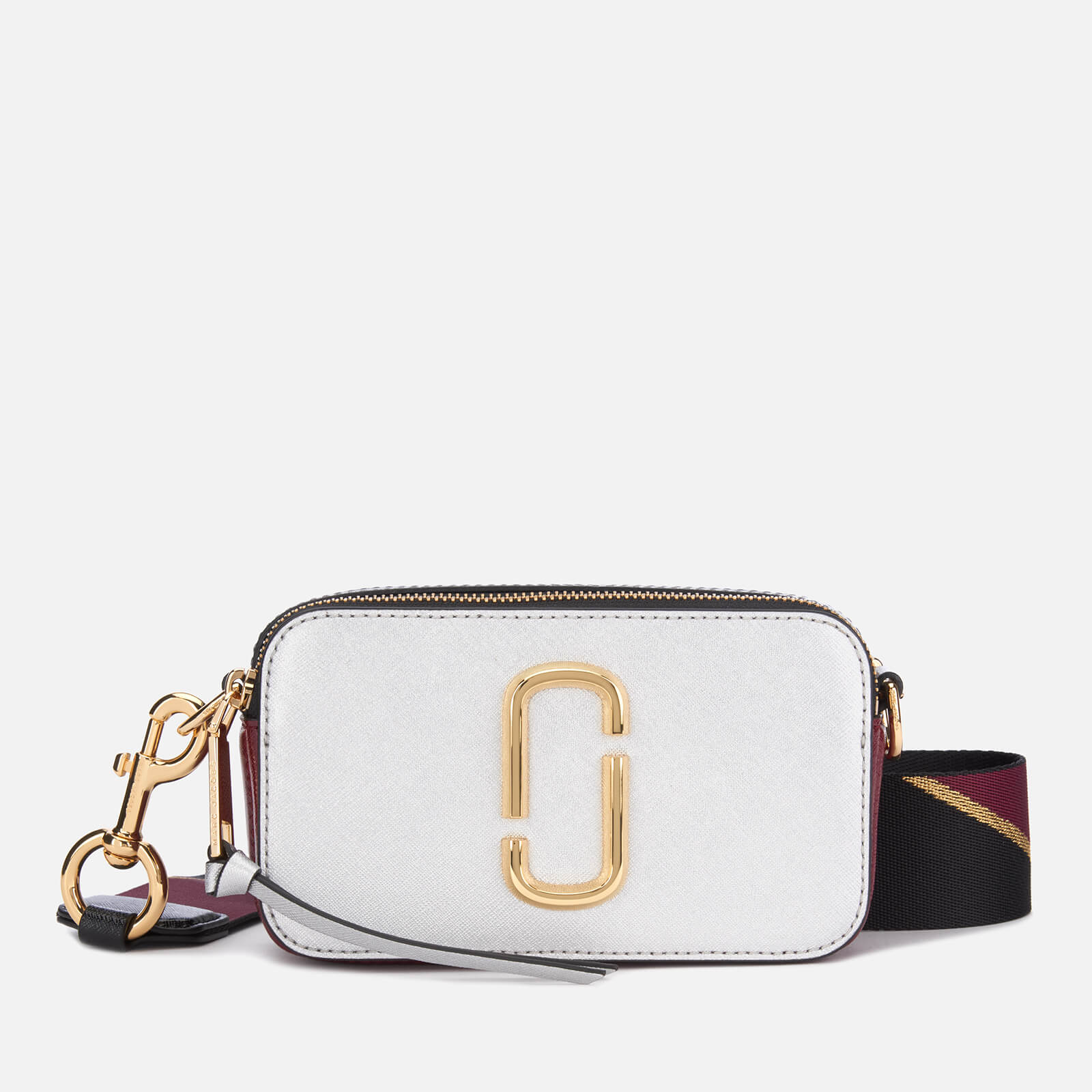 e46093183e30 Marc Jacobs Women s Snapshot Cross Body Bag - Silver Multi - Free UK  Delivery over £50