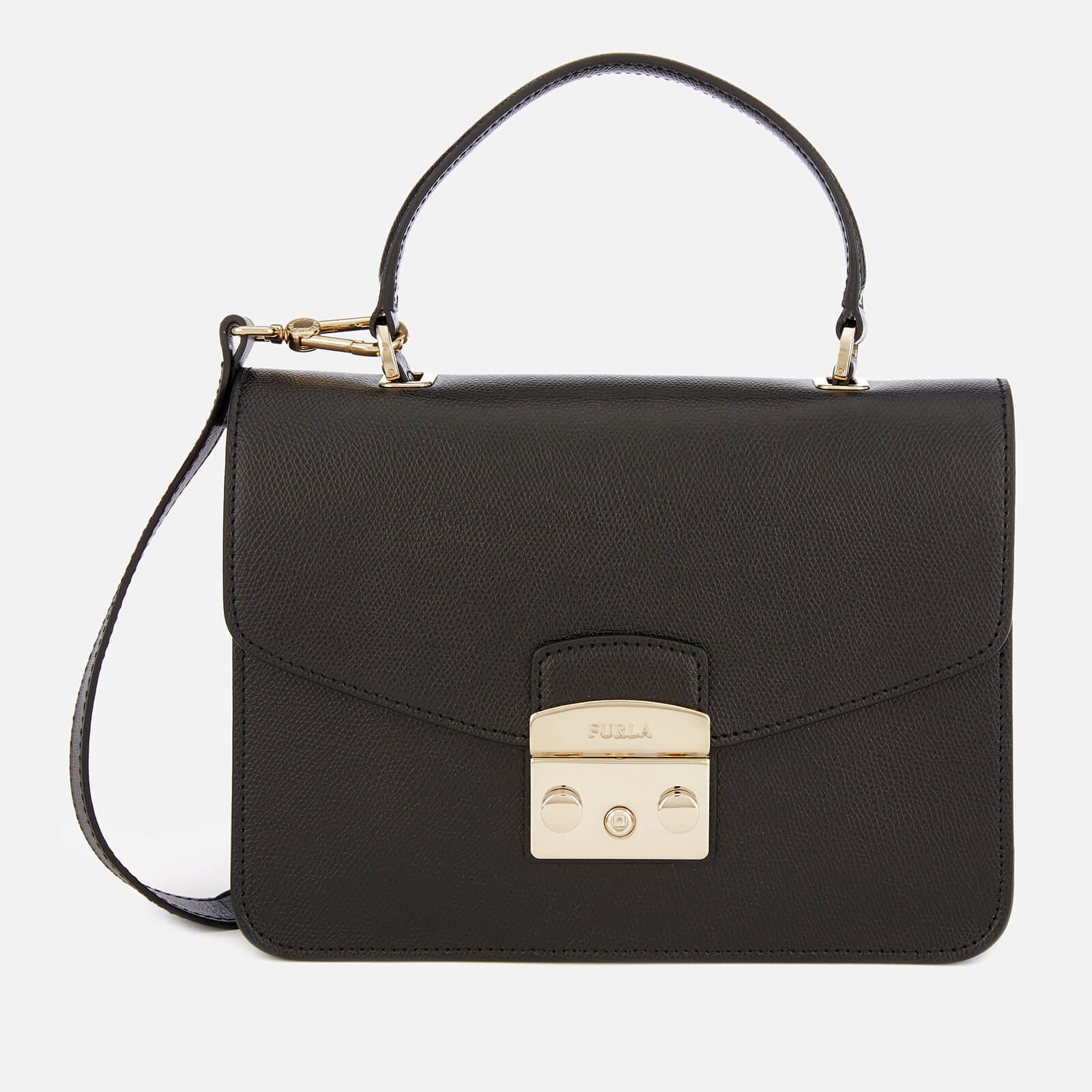 Furla Women's Metropolis Small Top Handle Bag - Black