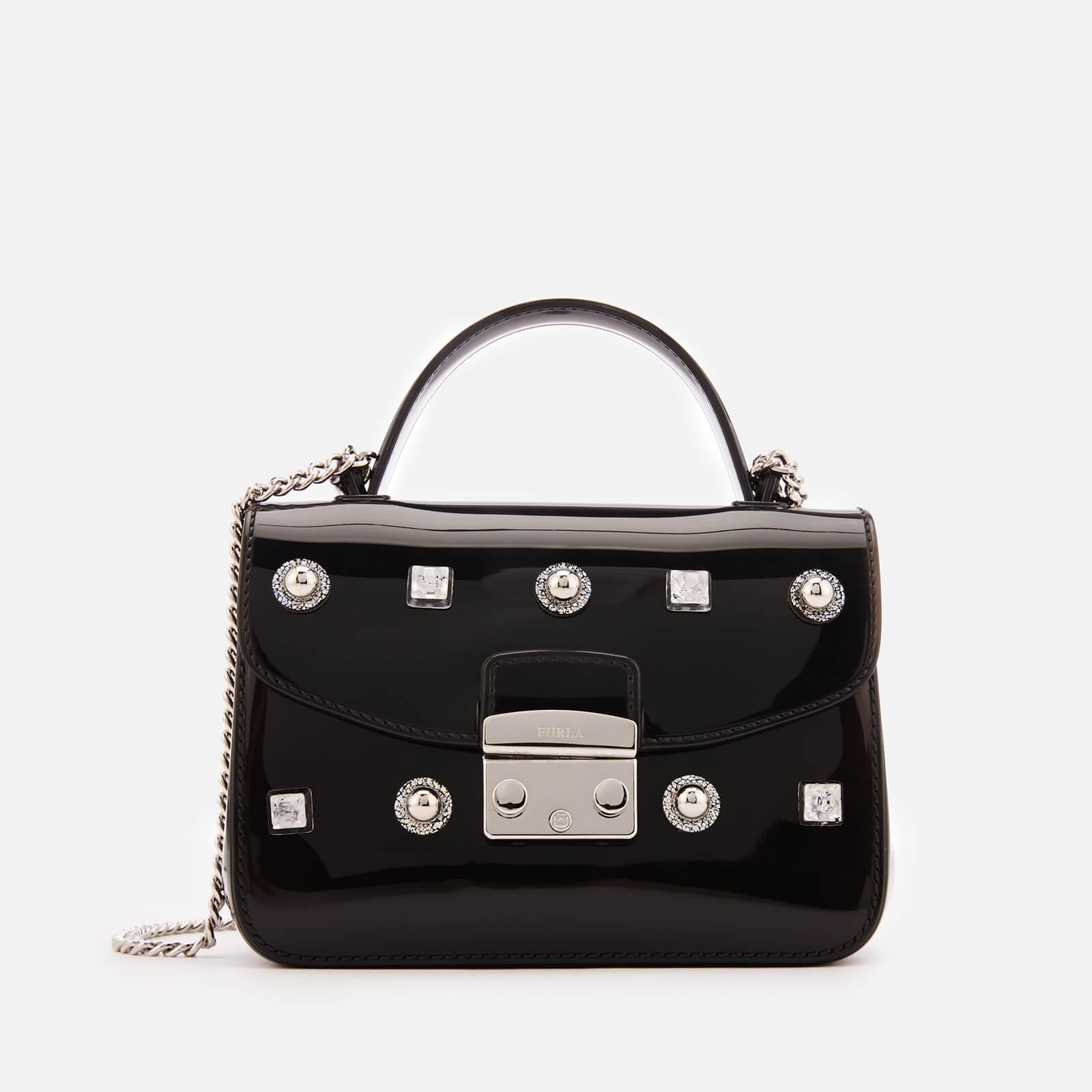 Furla Womens Candy Meringa Star Mini Cross Body Bag Black Free