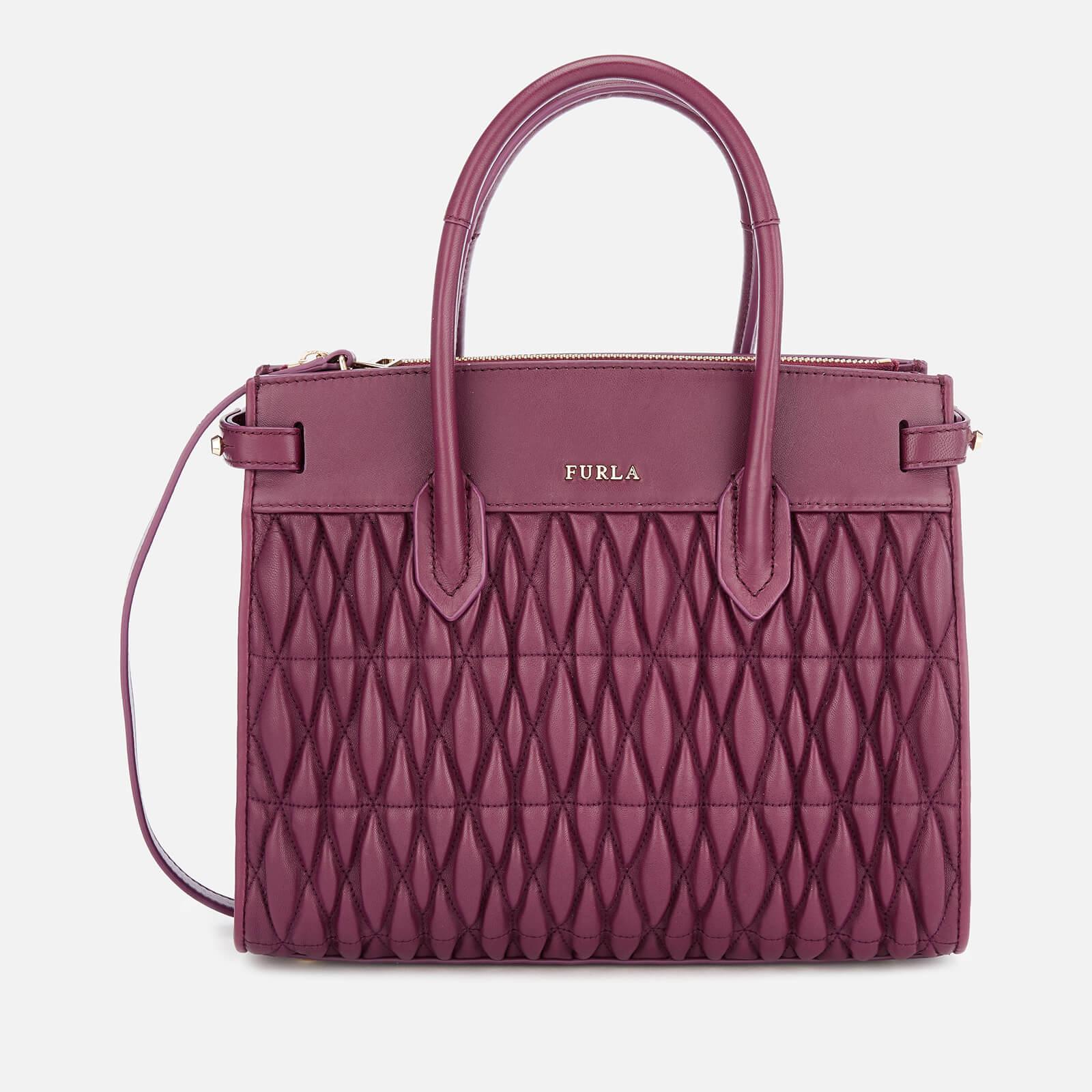 72990be3cda Furla Women's Pin Cometa Small Tote Bag - Purple