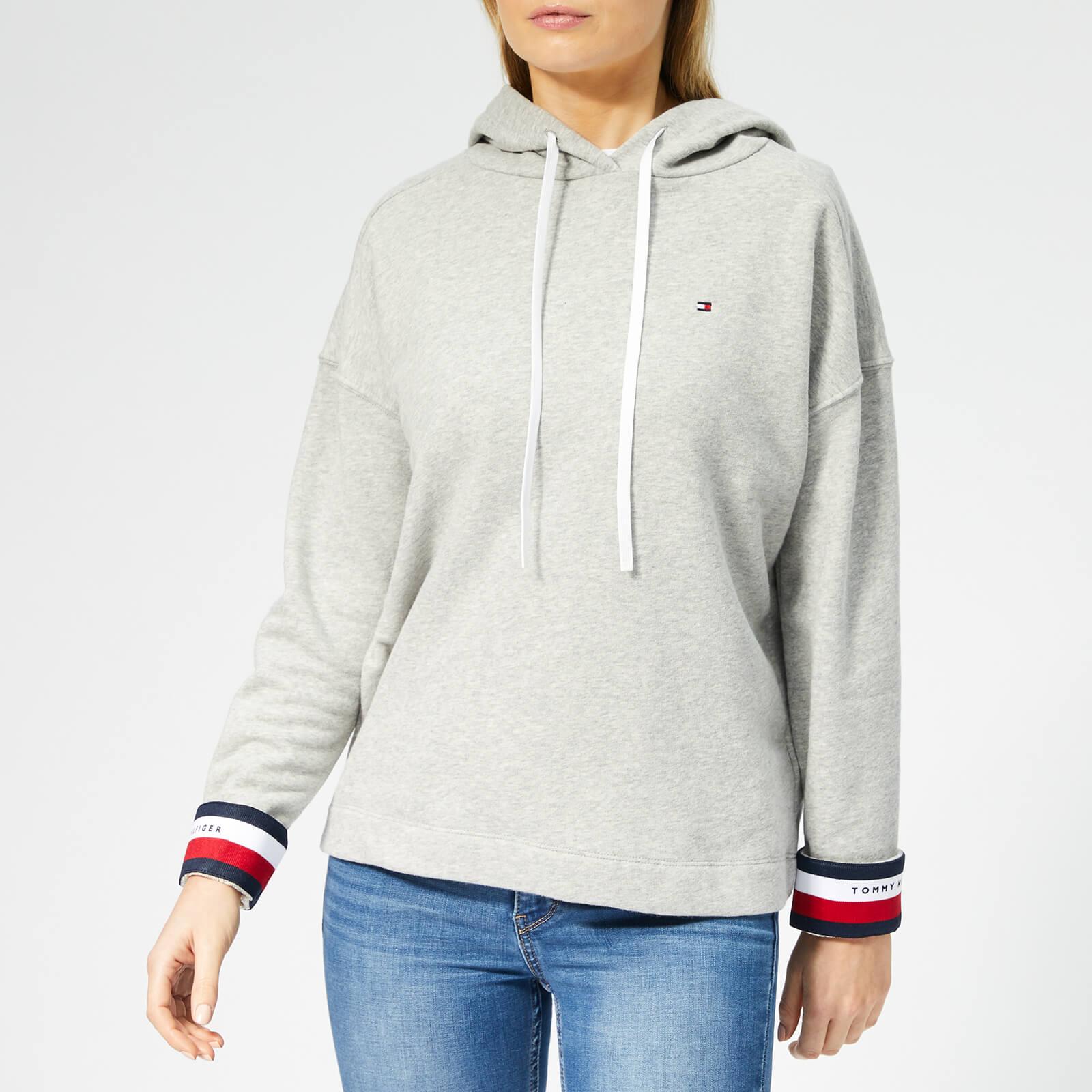 d70cfba3d Tommy Hilfiger Women's Valina Hoodie - Light Grey Htr Womens Clothing |  TheHut.com