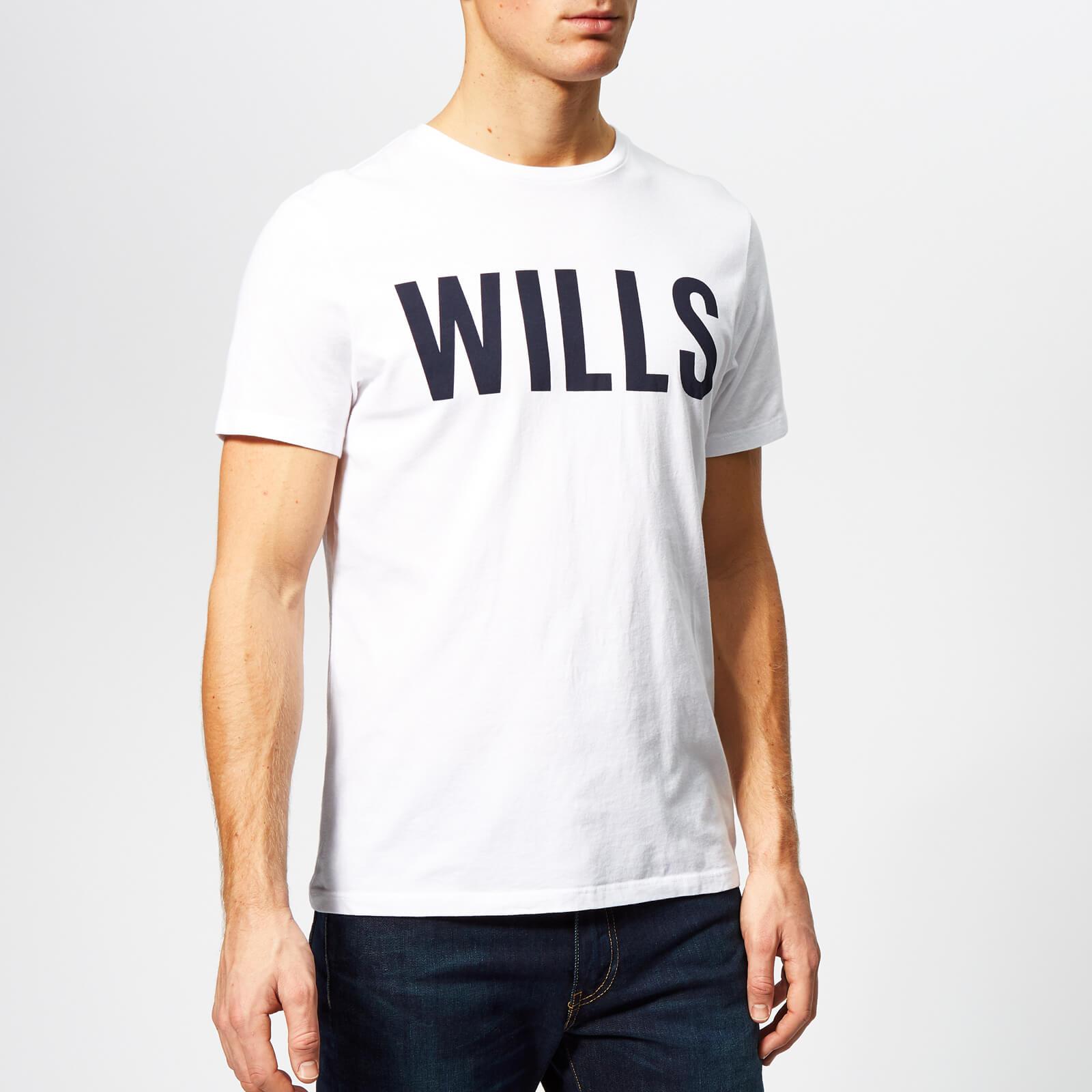 018fd42024 Jack Wills Men's Wentworth Graphic T-Shirt - White Clothing   TheHut.com
