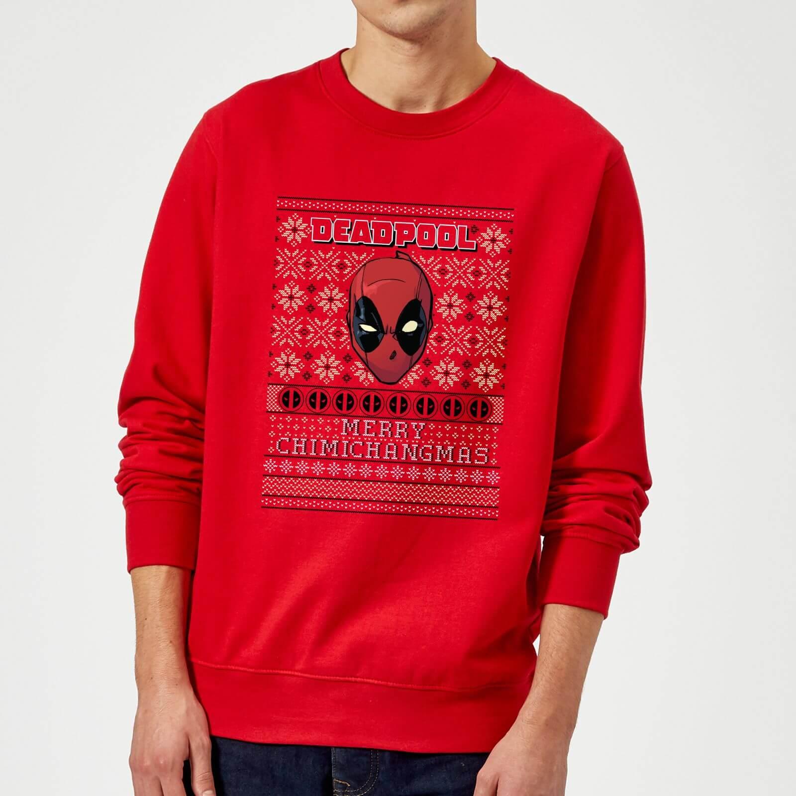 Foute Kersttrui 5xl.Marvel Deadpool Kersttrui Rood Zavvi Nl