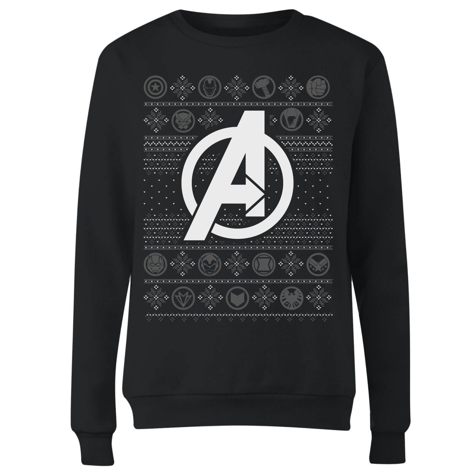 Marvel Womens Avengers Christmas Sweater