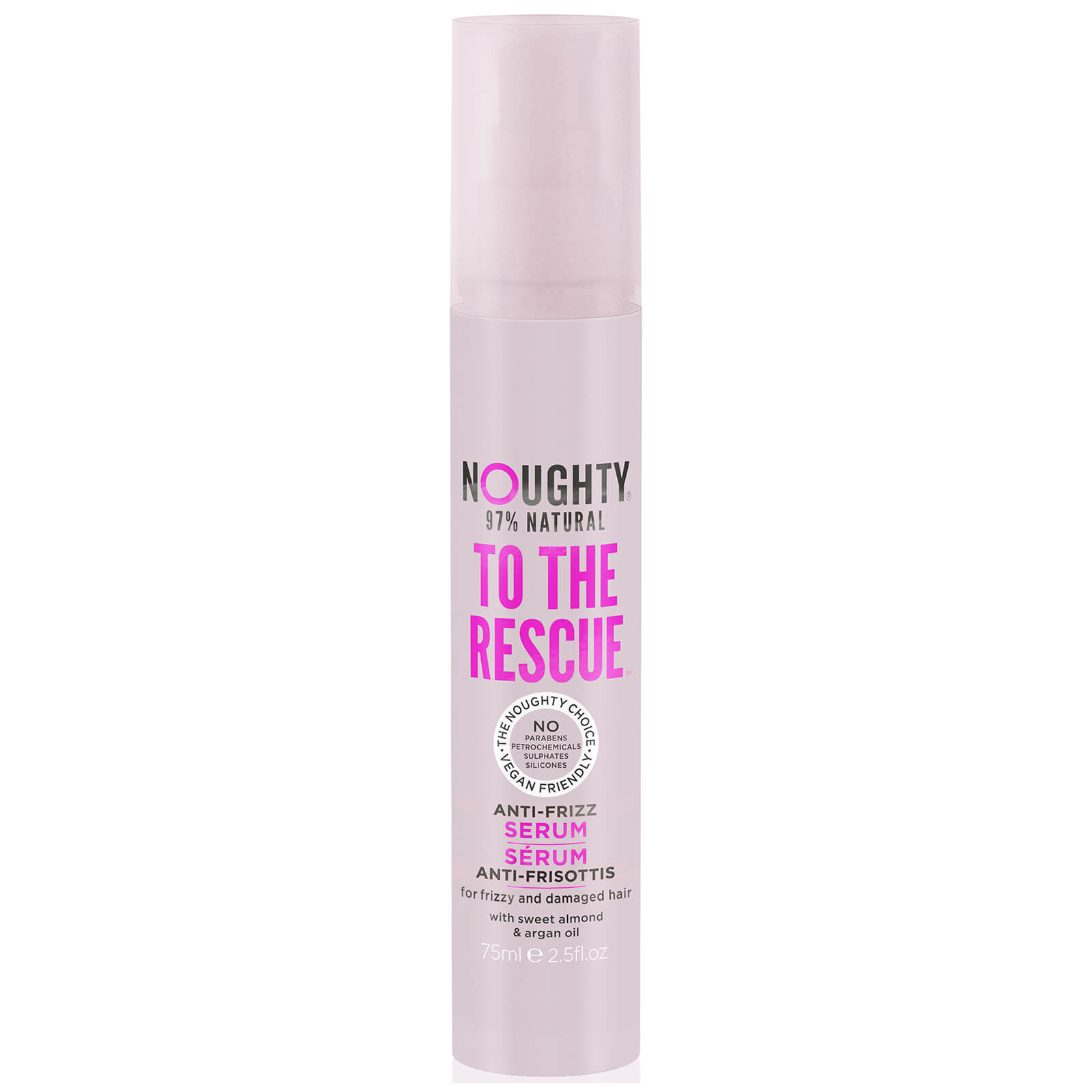 Noughty To the Rescue Anti-Frizz Serum 75ml | Buy Online At RY