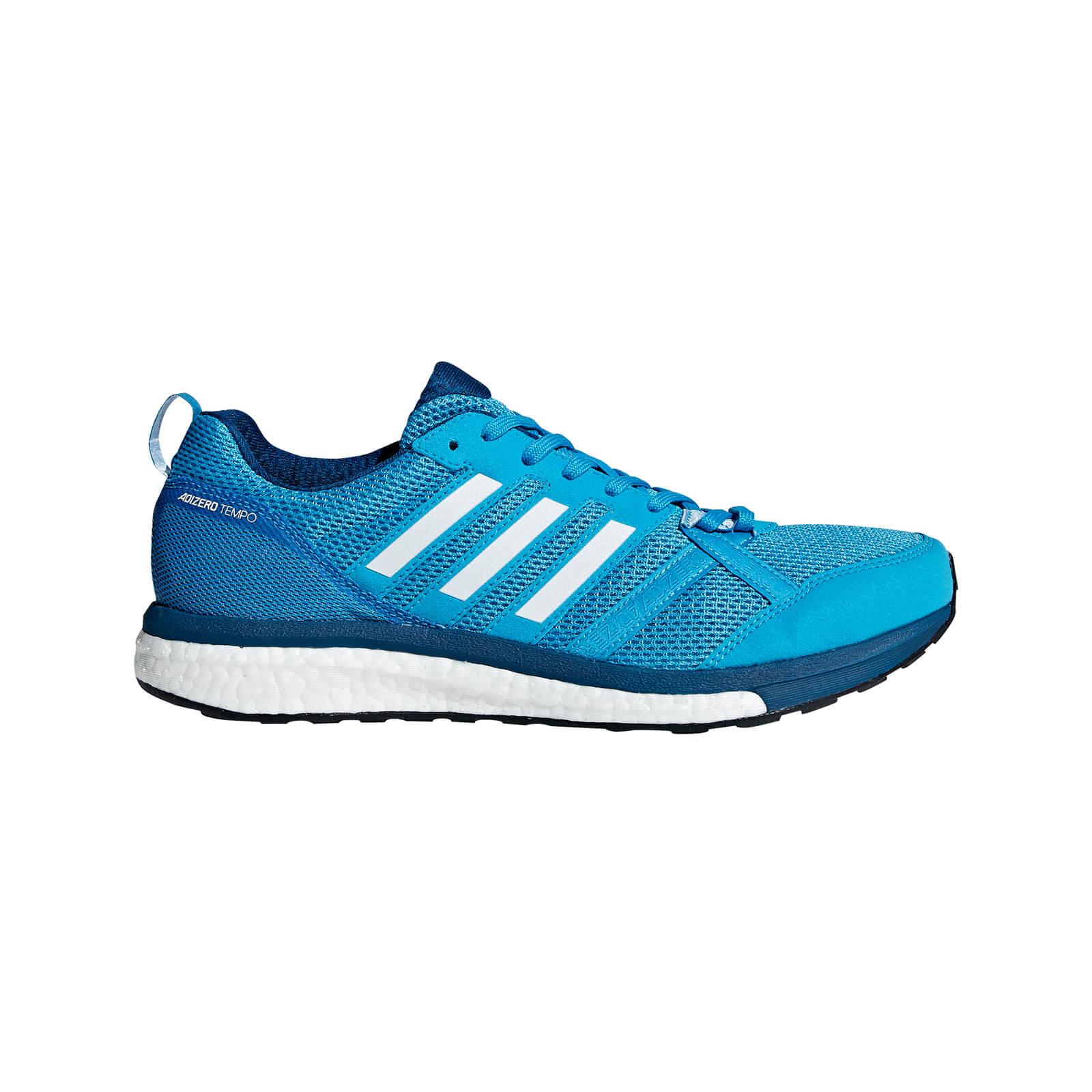 reputable site 8359c 2aa65 adidas Men's Adizero Tempo 9 Running Shoes - Blue