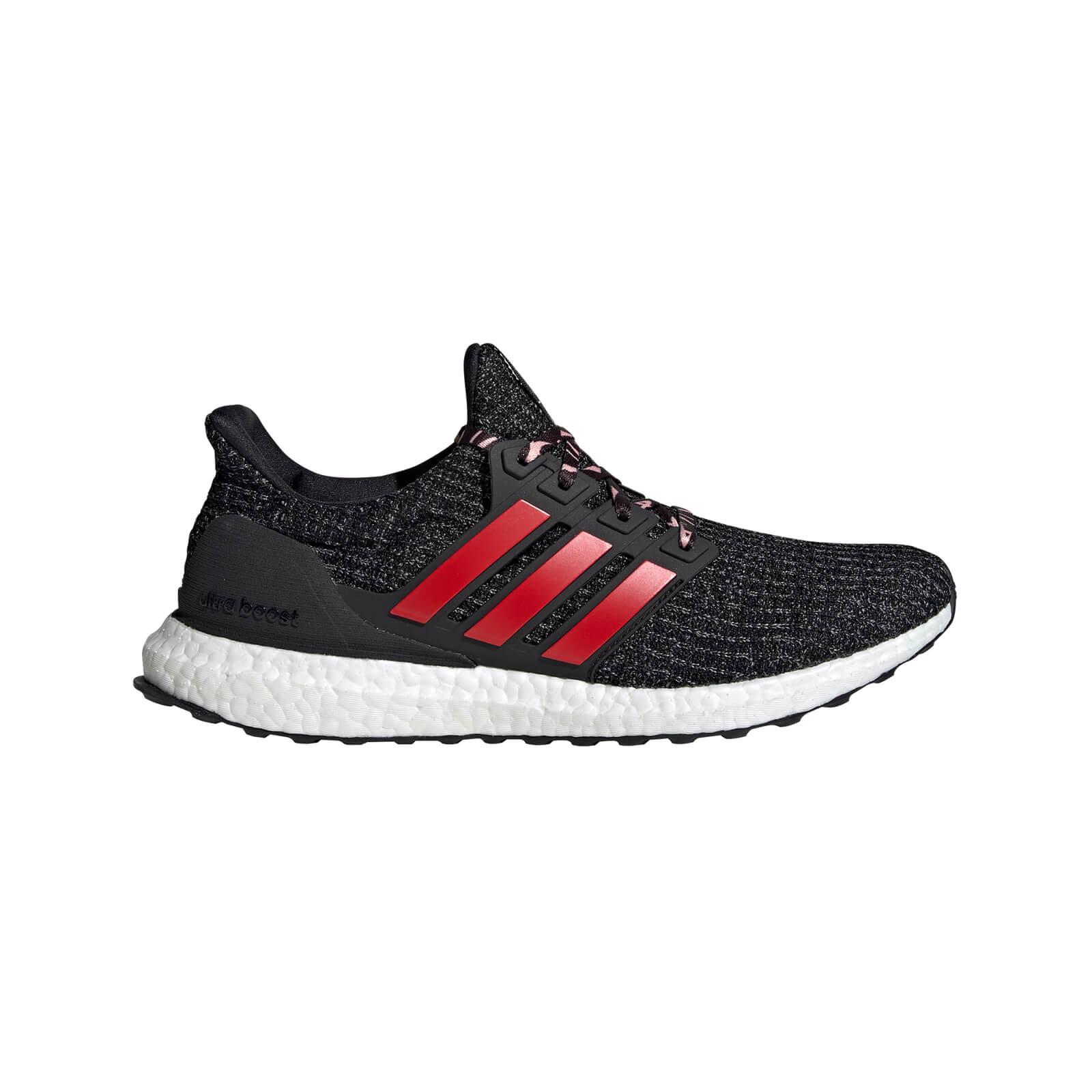b1d976822a5d adidas Men s Ultraboost Running Shoes - Black Scarlet
