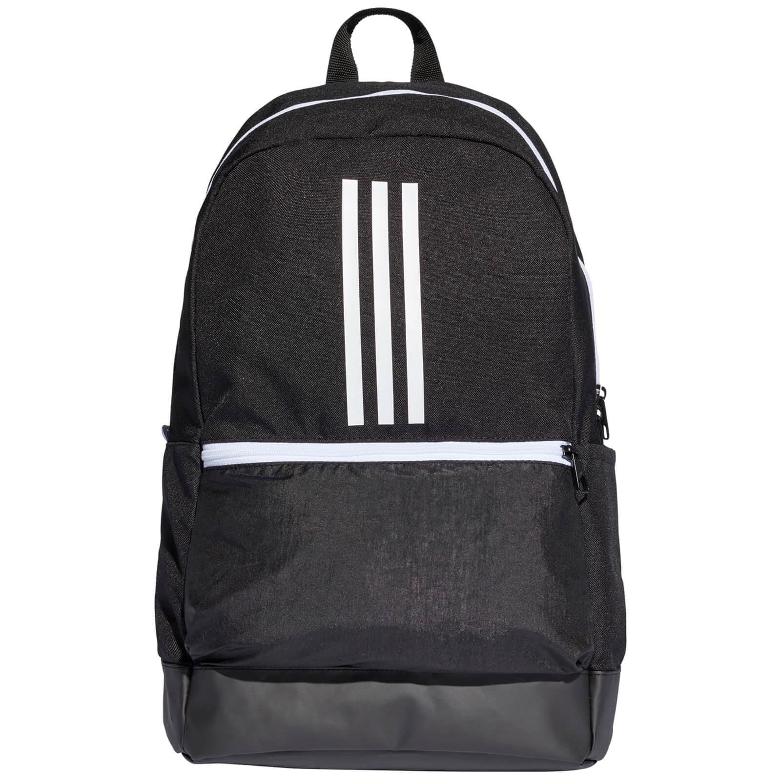adidas BP Class 3 Stripe Backpack - Black White  25e294ca31aa0