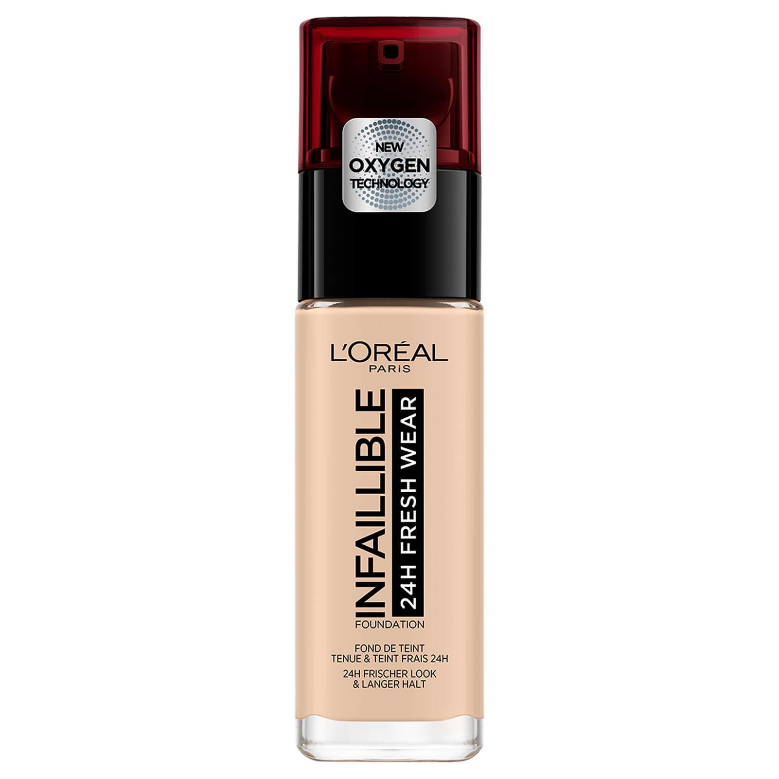 4716c4d0a91 L'Oréal Paris Infallible 24hr Freshwear Liquid Foundation (Various Shades)  | Free Shipping | Lookfantastic