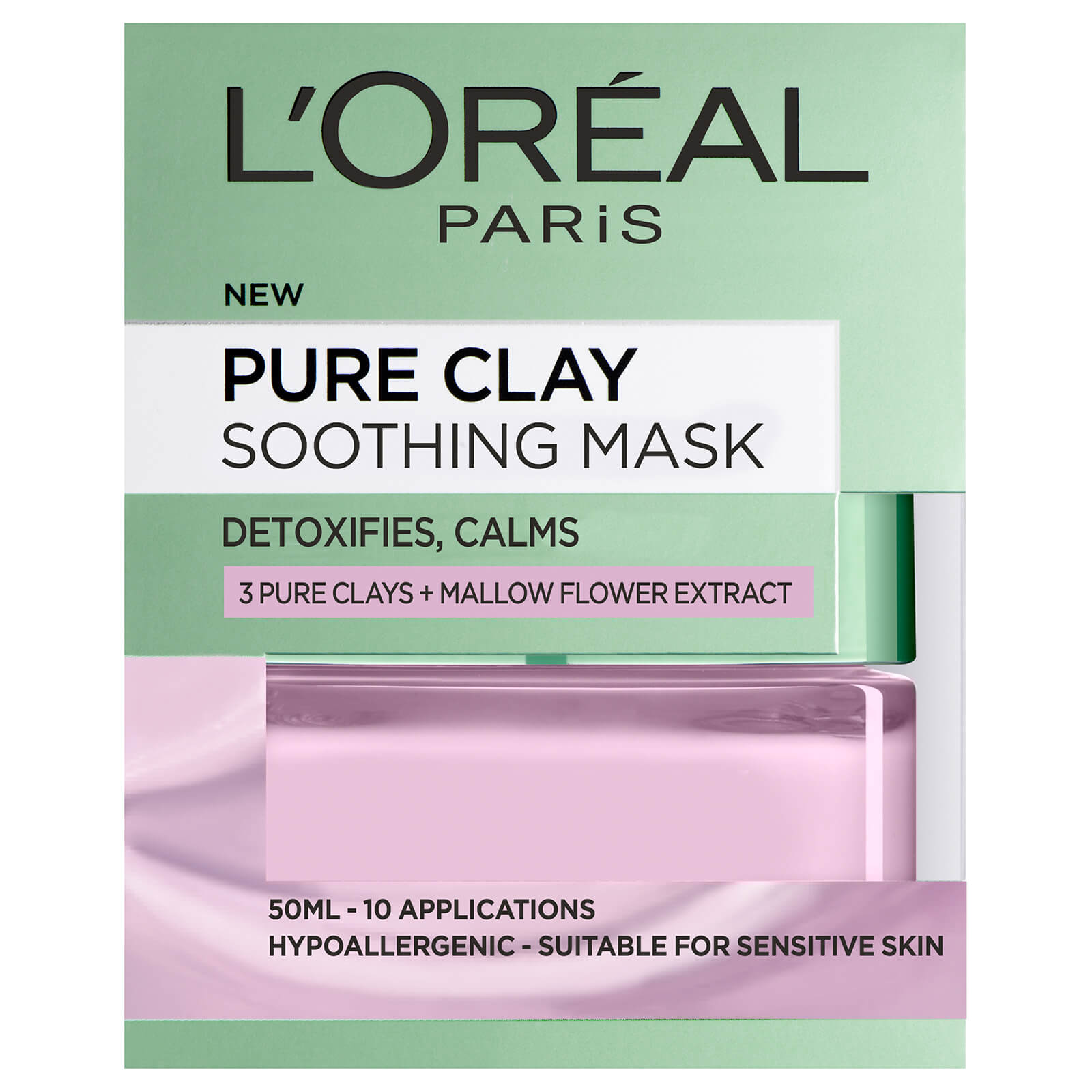 L'Oreal Paris Pure Clay Soothing Face Mask