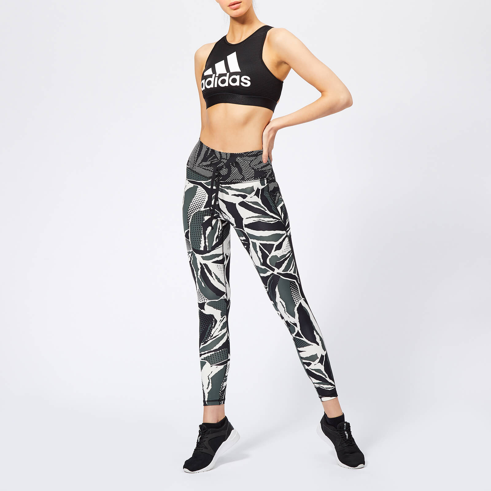 adidas Women's Believe This High Rise 7/8 Tights - Black
