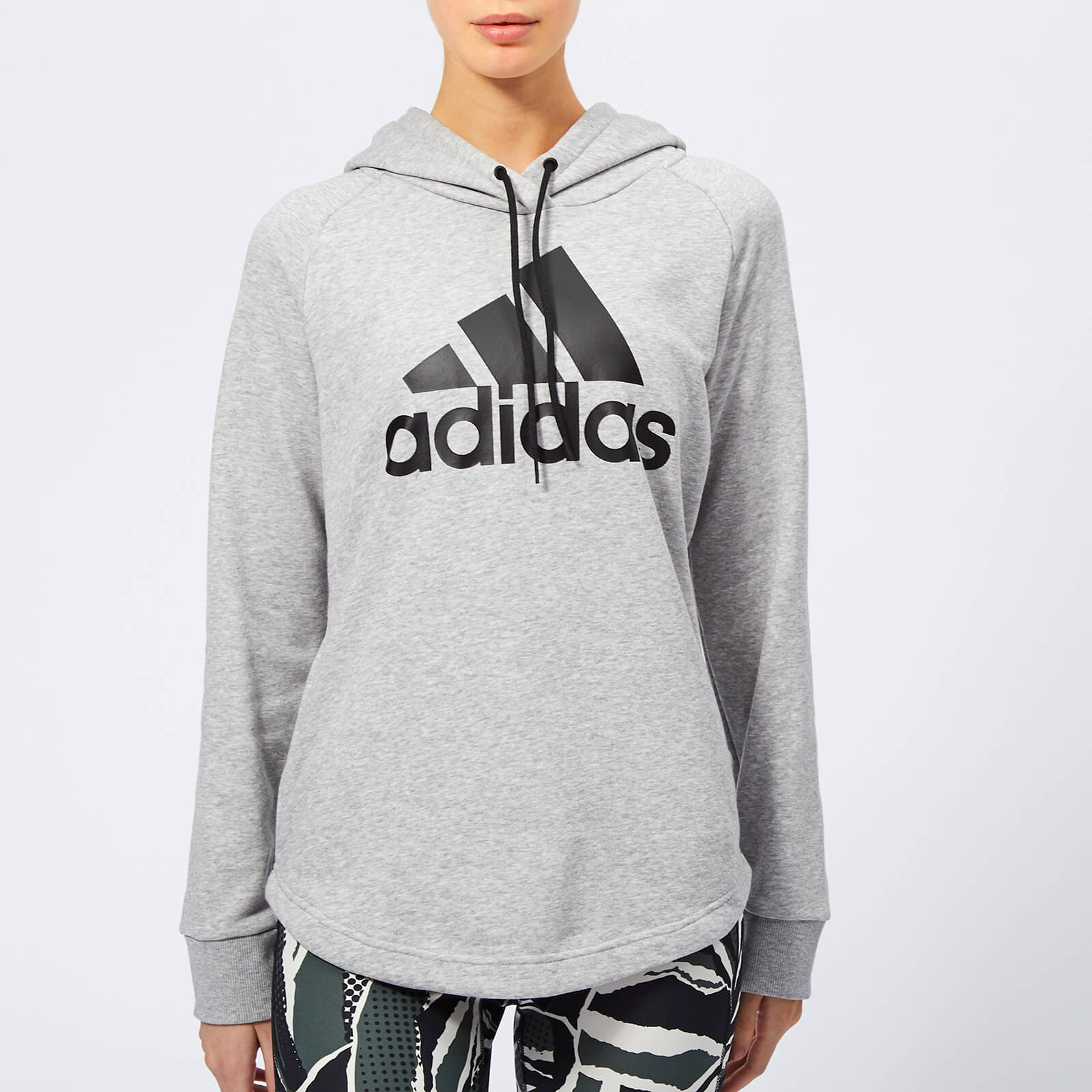 6f5484cac70 adidas Women's Must Haves Badge of Sport Hoodie - Grey Heather Sports &  Leisure | TheHut.com