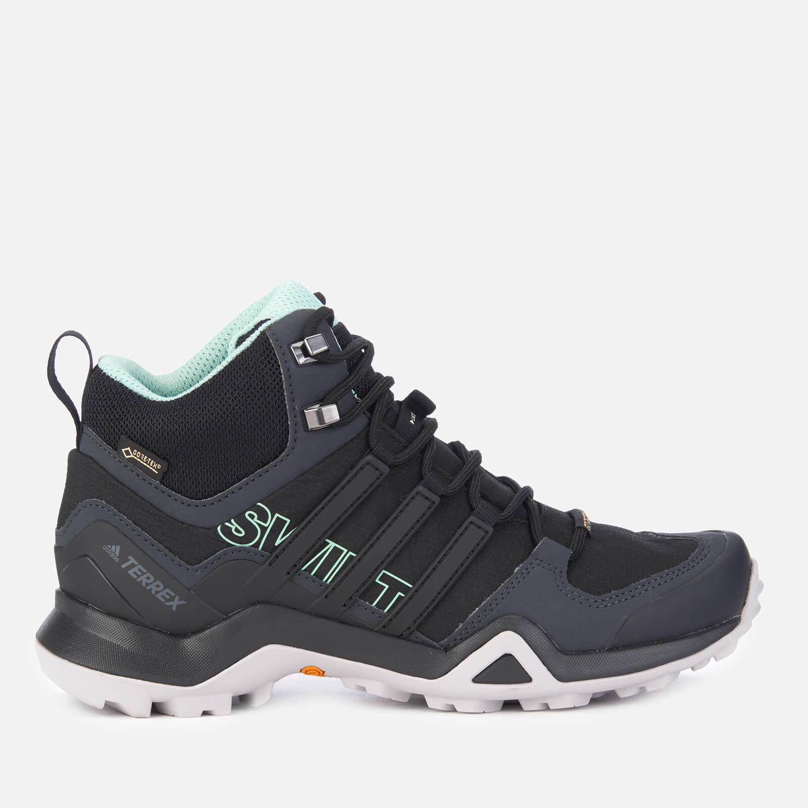 ed09b97fc3089 adidas Women s Terrex Swift R2 Mid Hiking Boots - Black Sports   Leisure