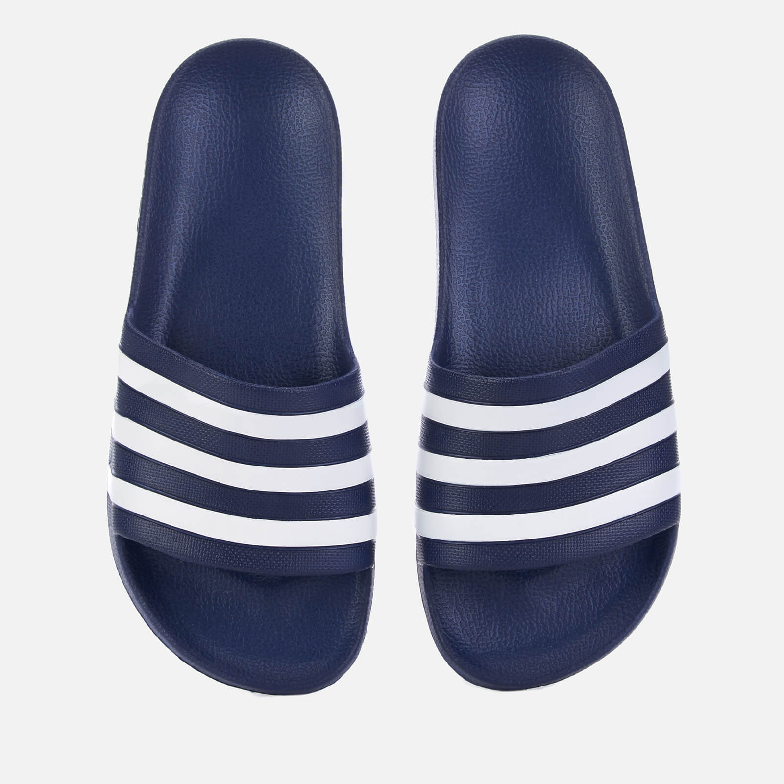 cc52d27495d8 adidas Men s Adilette Aqua Slide Sandals - Dark Blue Sports   Leisure