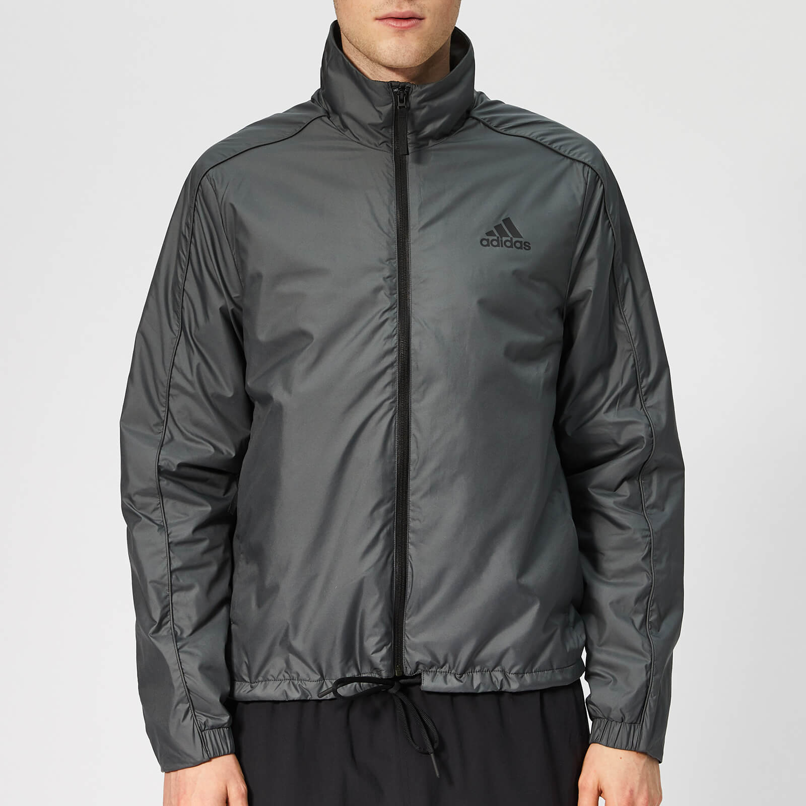 adidas Men's Terrex Light Insulated Jacket Carbon Sports