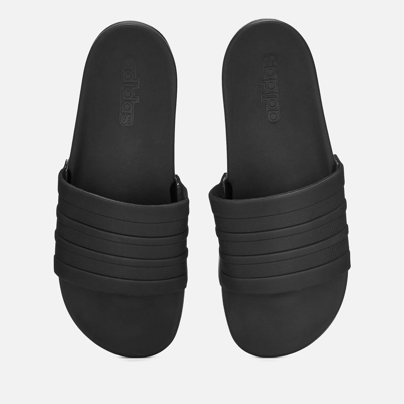a37ae4801d099 adidas Men's Adilette Comfort Slide Sandals - Black