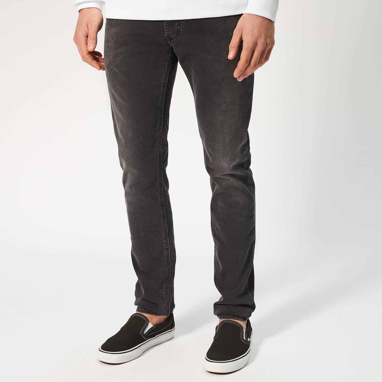 f2674d7e Diesel Men's Sleenker Skinny Jeans - Grey Mens Clothing | TheHut.com