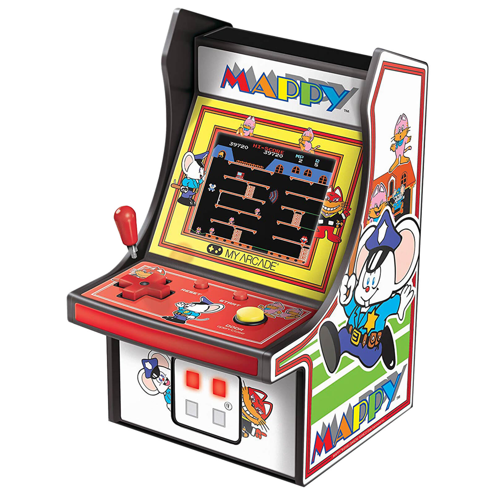 DreamGear Retro Arcade 6 Inch Mappy Micro Player £9.99 (RRP £49.99) @ ZAVVI