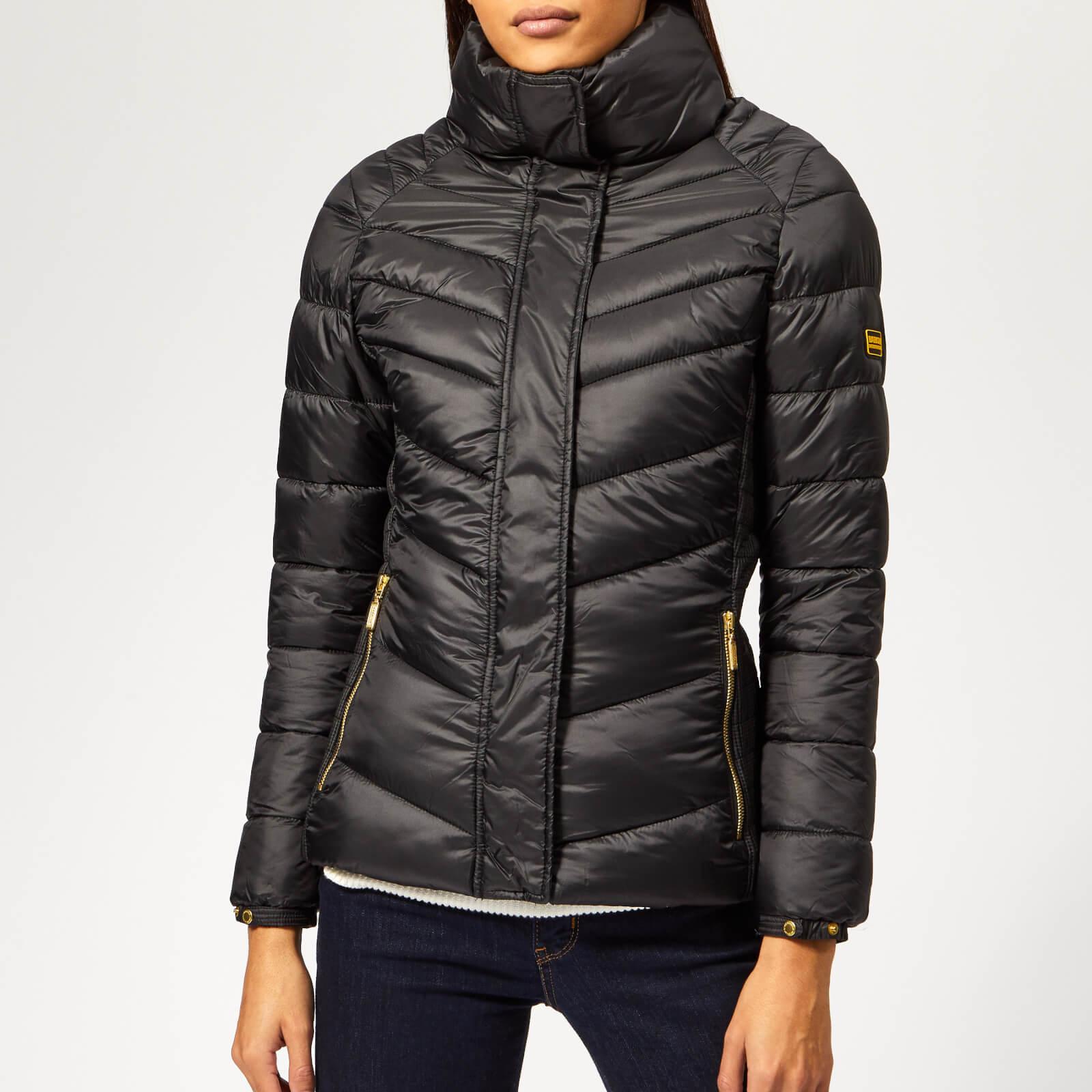 66d9e1af78f Barbour International Women s Camier Quilted Coat - Black - Free UK  Delivery over £50