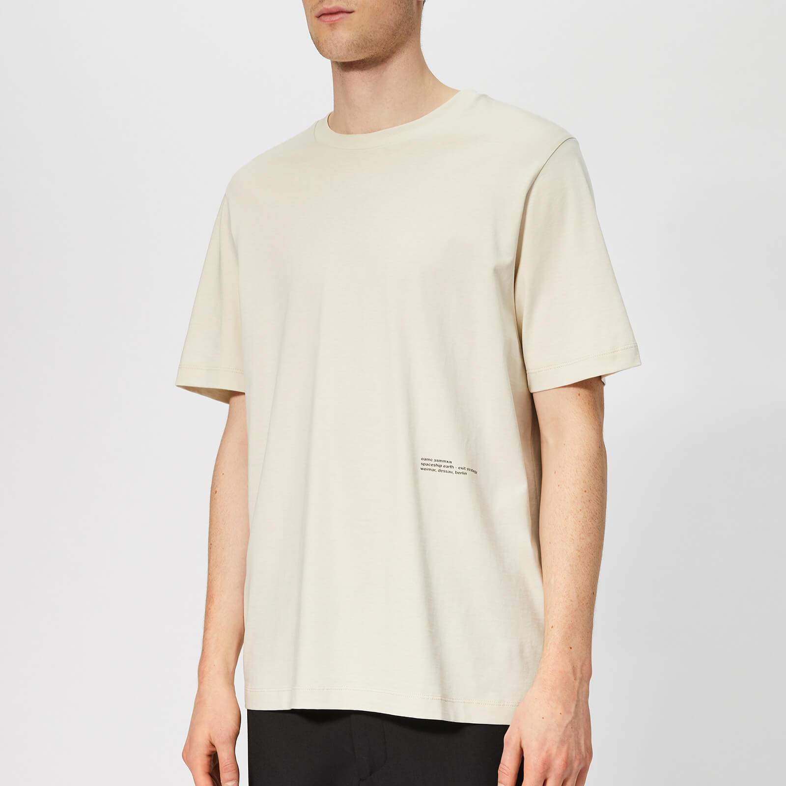 b93338566 OAMC Men's SE T-Shirt - Light Pastel Green - Free UK Delivery over £50