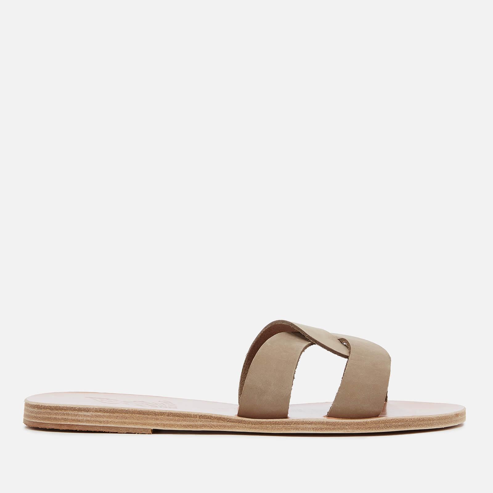 93b06d9d8961a ... Ancient Greek Sandals Women's Desmos Nubuck Slip On Sandals - Canapa