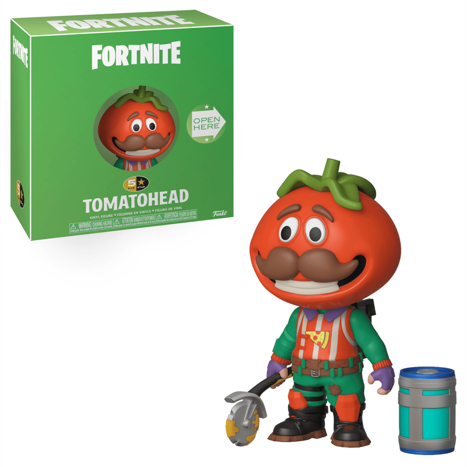 Funko 5 Star Vinyl Figure Fortnite Tomatohead Pop In A Box Uk